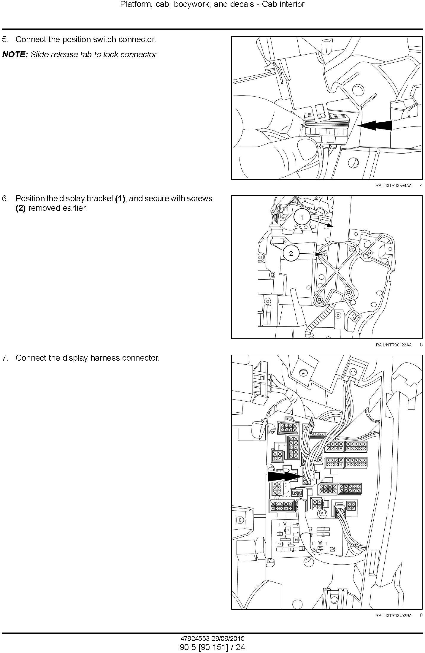 New Holland T9.435, T9.480, T9.530, T9.565, T9.600, T9.645, T9.700 Tractor Service Manual (Europe) - 1