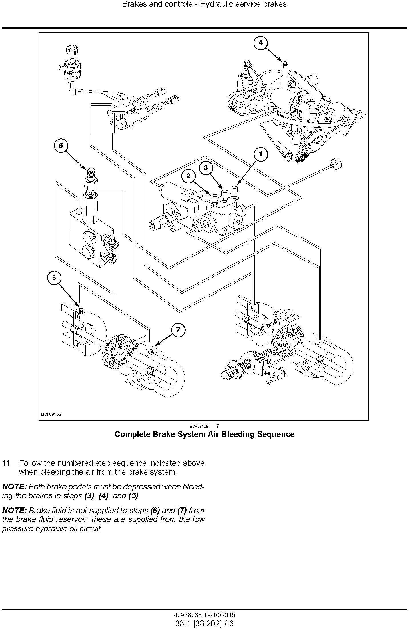 New Holland T6.125, T6.145, T6.155, T6.165, T6.175, T6.180 Auto Command Tractor Service Manual (USA) - 3