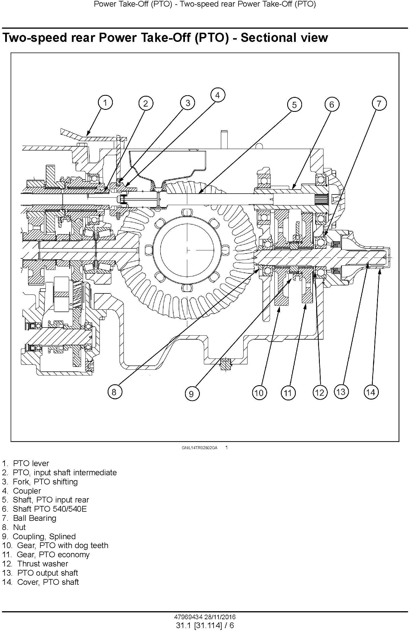 New Holland TT4.55, TT4.65, TT4.75 Tier 3 Tractor Service Manual - 3