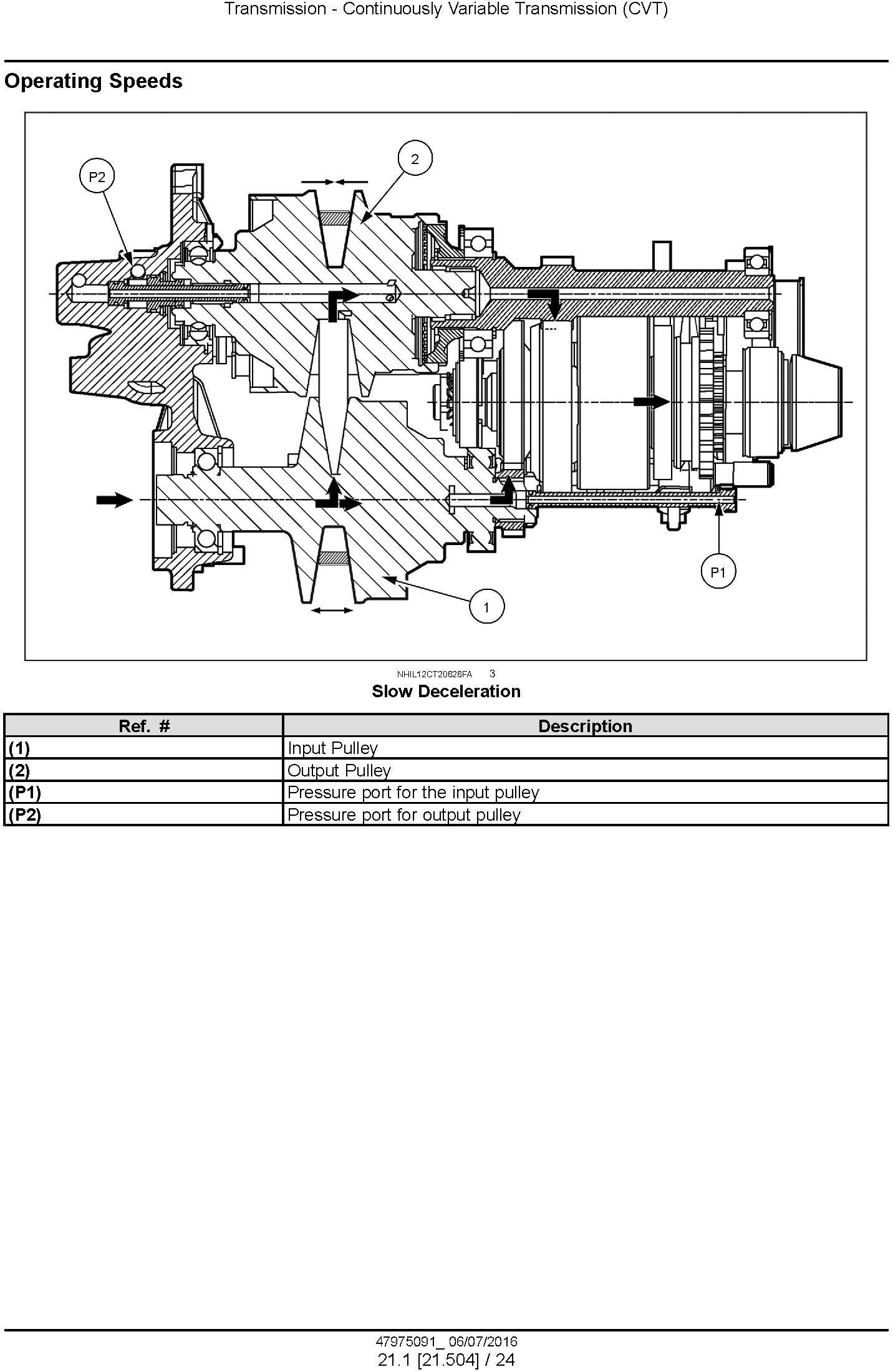 New Holland Boomer 40D CVT, 45D CVT, 50D CVT Tier 3 Compact Tractor Complete Service Manual - 1