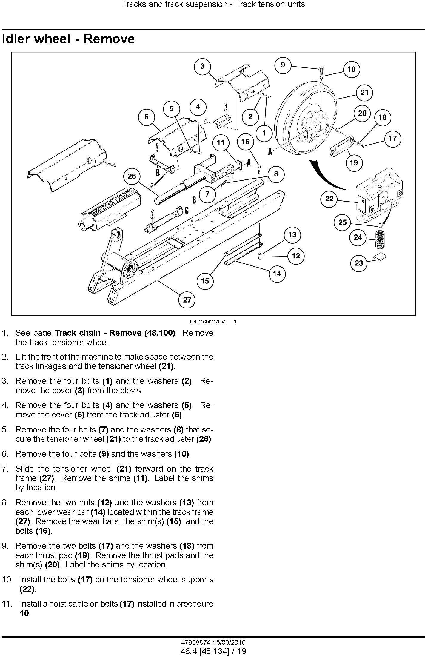 New Holland , Case 1150L Crawler dozer Service Manual - 3