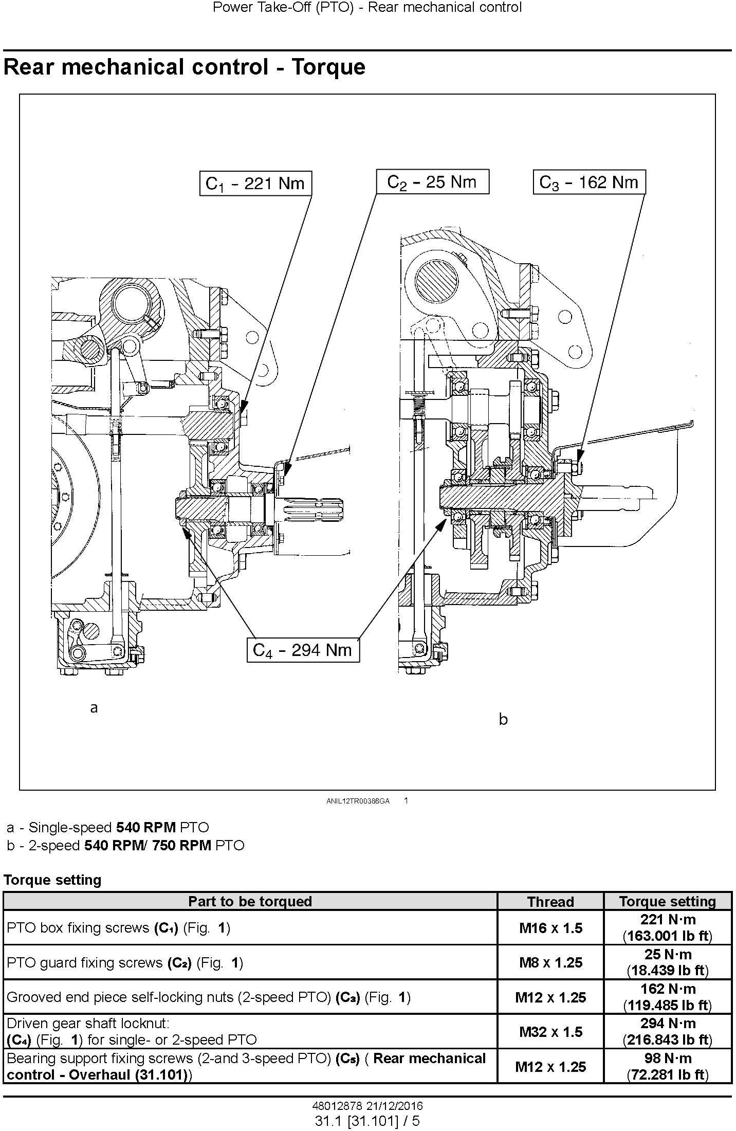 New Holland TD5.65, TD5.75, TD5.80, TD5.90, TD5.100M, TD5.110 Tractors Service Manual - 3