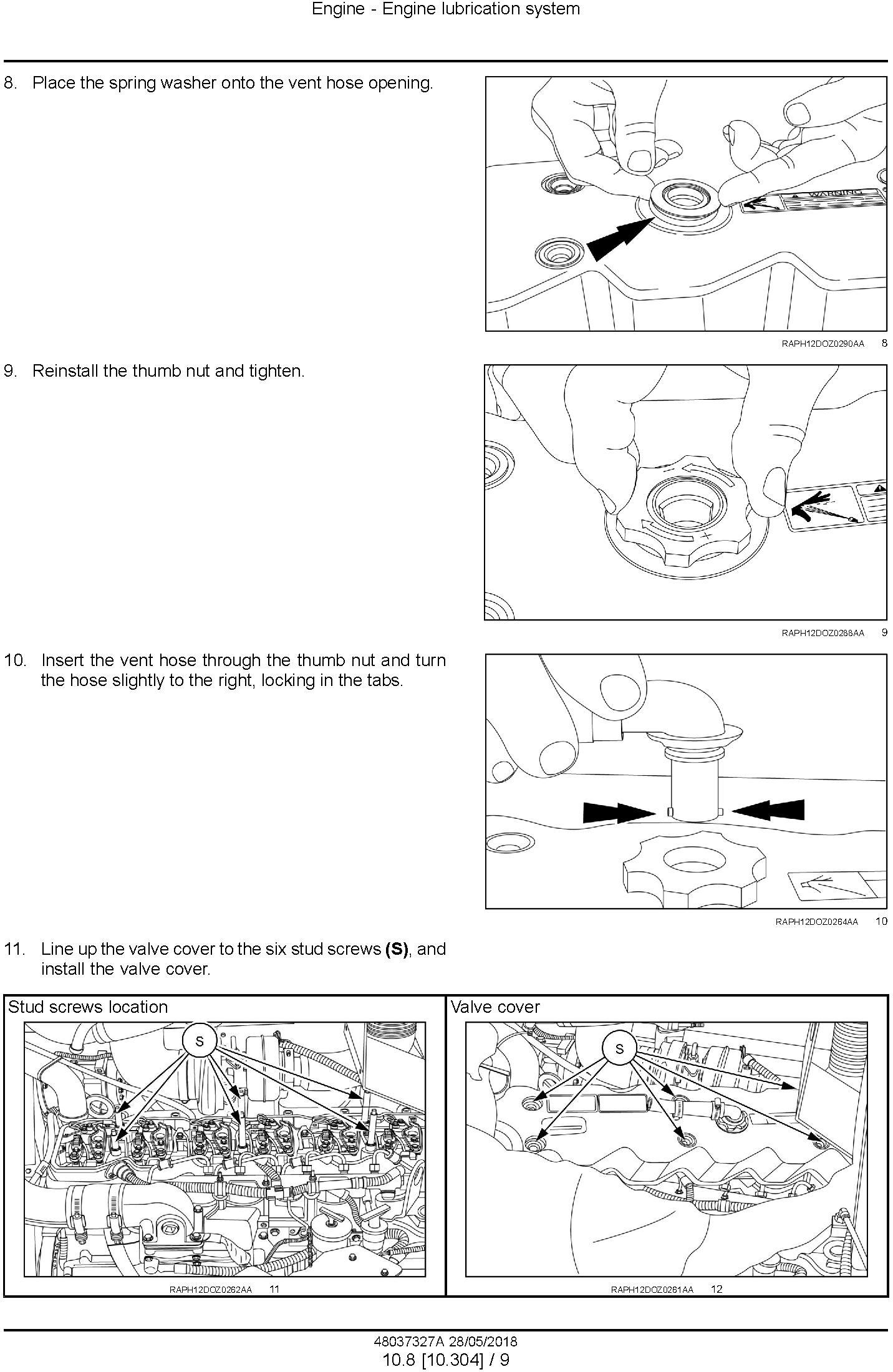 New Holland D180C Crawler Dozer Tier2 and Tier3 Service Manual (Made in Brazil) - 2