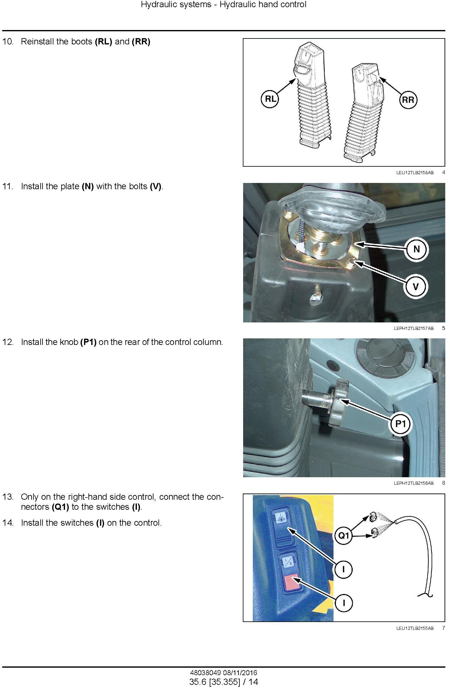 New Holland B95C /CLR /CTC (NGHH02222-), B110C (NGHH02228-) T4B final Backhoe Loader Service Manual - 3