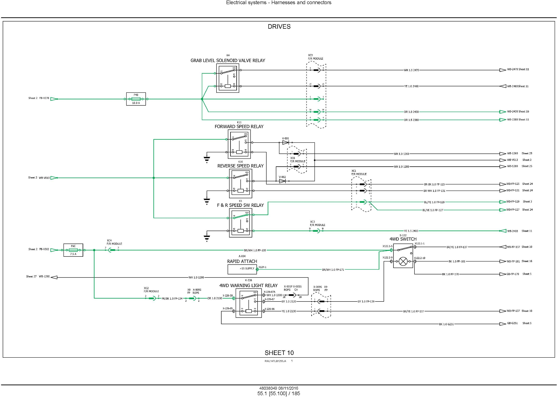 New Holland B95C /CLR /CTC (NGHH02222-), B110C (NGHH02228-) T4B final Backhoe Loader Service Manual - 2