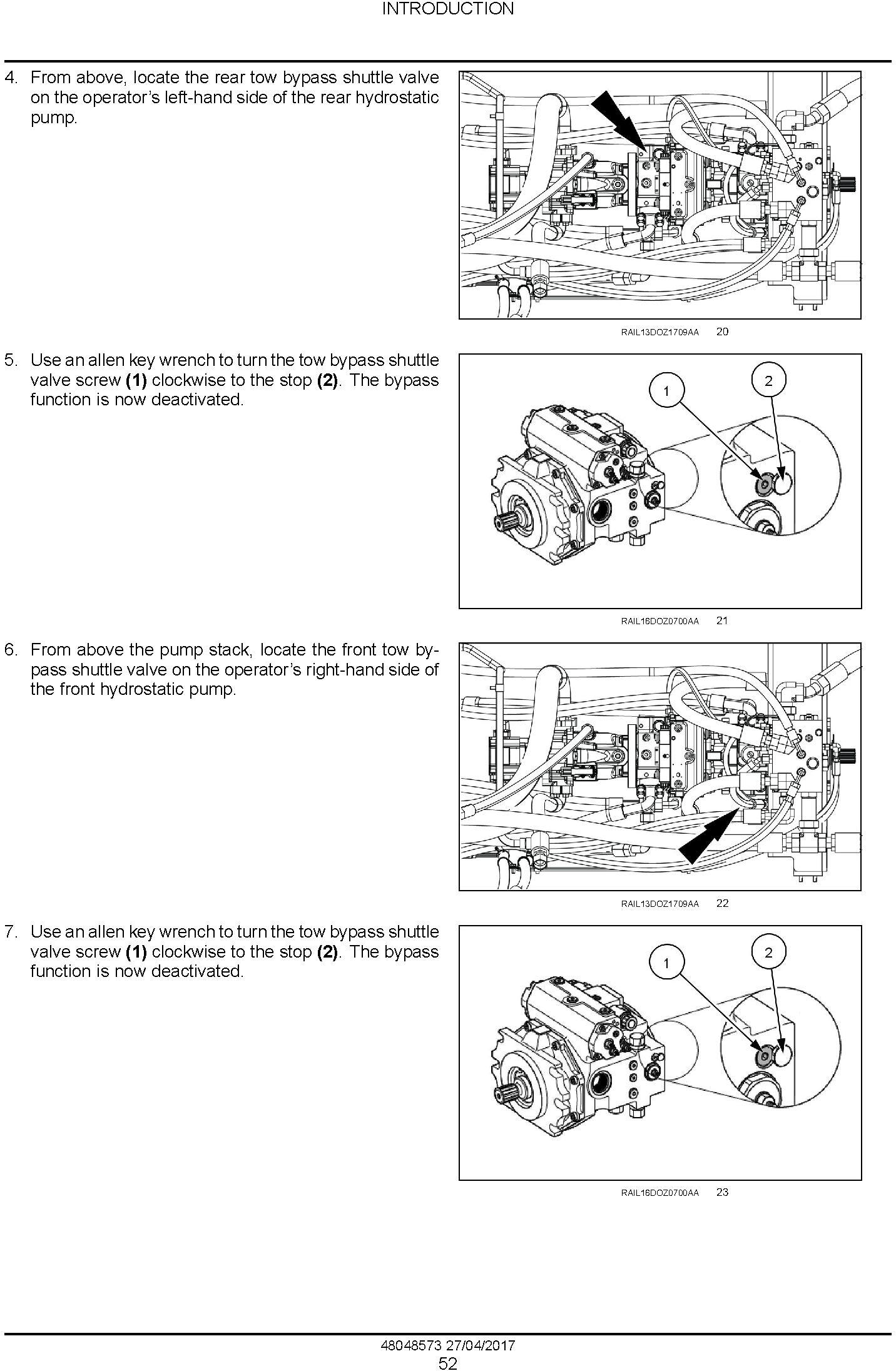 New Holland D180C Tier 2 Crawler Dozer Service Manual - 1