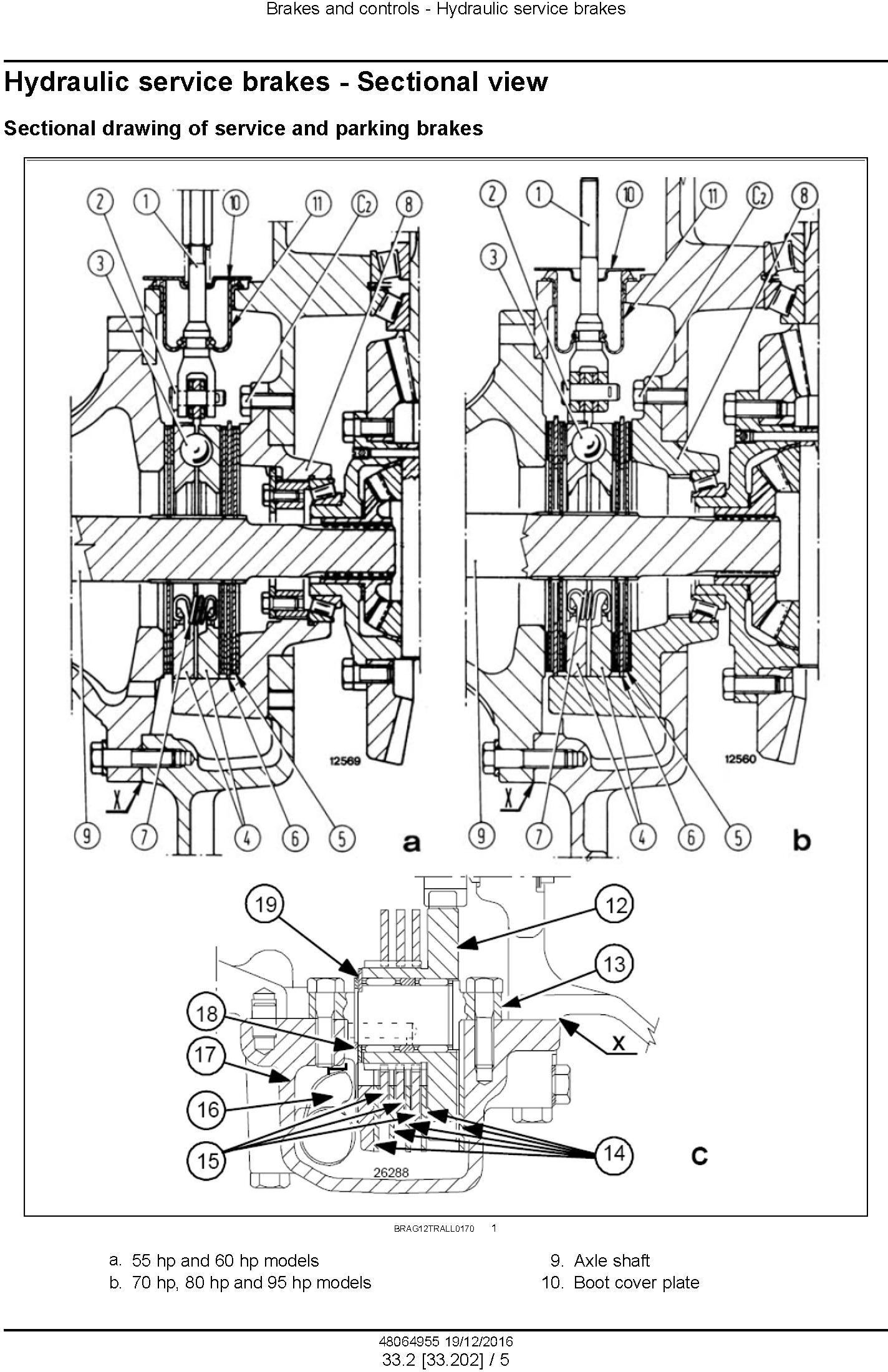New Holland TD4020F, TD4030F, TD4040F Tractor Service Manual (Europe) - 3