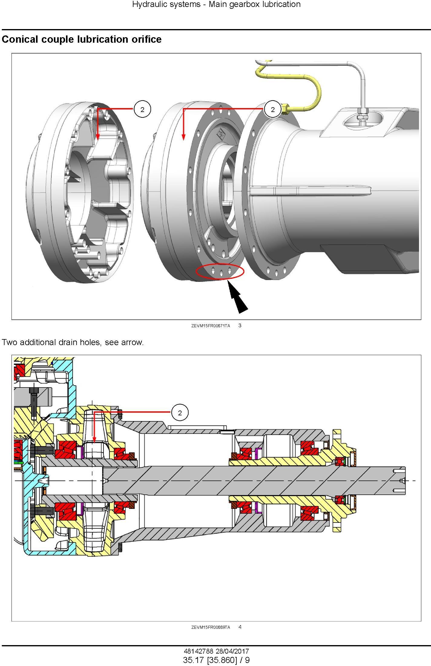 New Holland FR480, FR550, FR650, FR780, FR850 Forage Cruiser - Forage Harvester Service Manual (USA) - 3