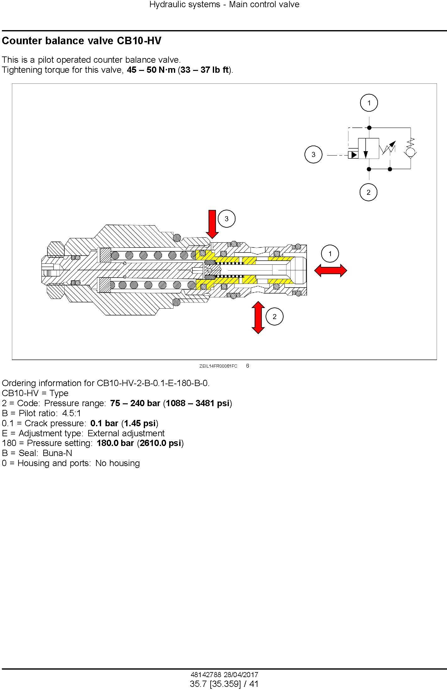 New Holland FR480, FR550, FR650, FR780, FR850 Forage Cruiser - Forage Harvester Service Manual (USA) - 2