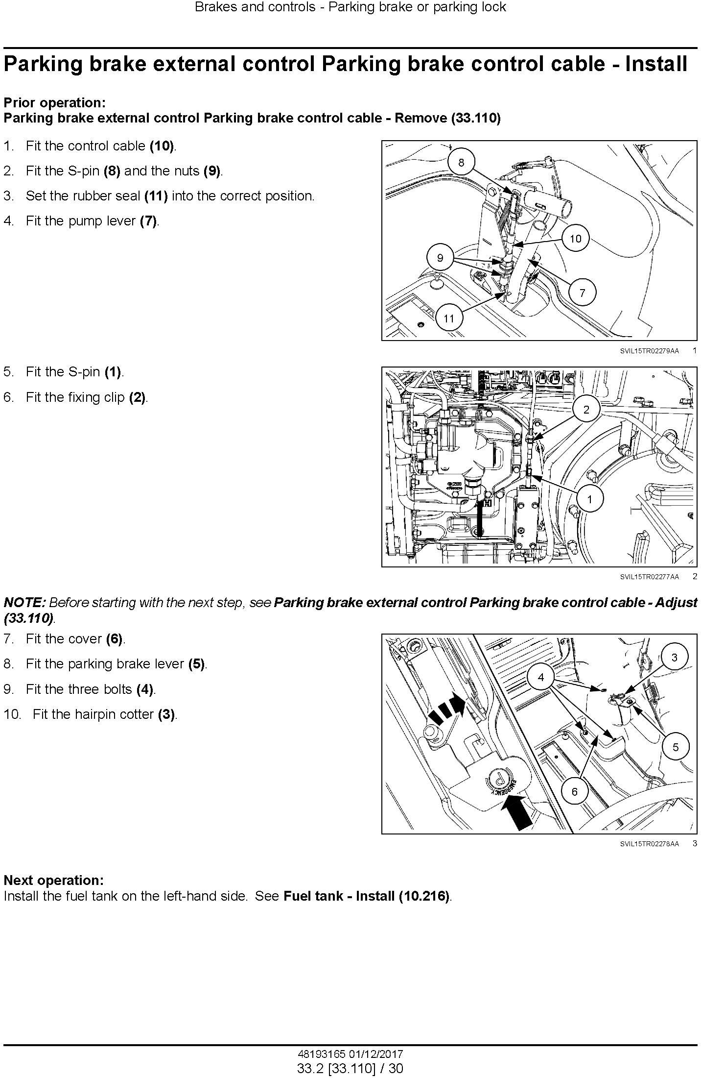 New Holland T7.290 AutoCommand, T7.315 AutoCommand Stage IV Tractor Service Manual (Europe) - 2