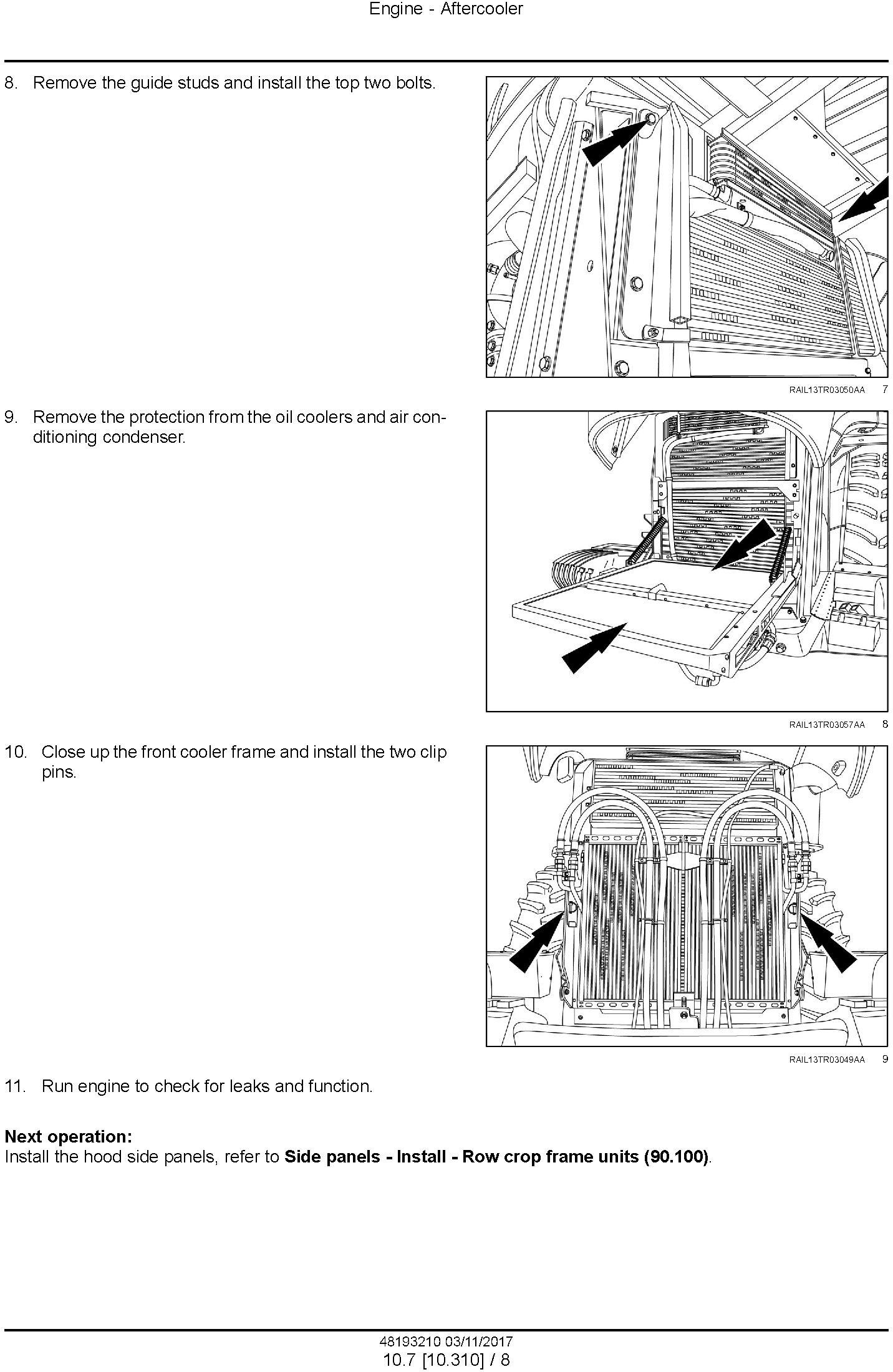 New Holland T9.435, T9.480, T9.530, T9.565, T9.600, T9.645, T9.700 Tier4B Tractor Service Manual(EU) - 1
