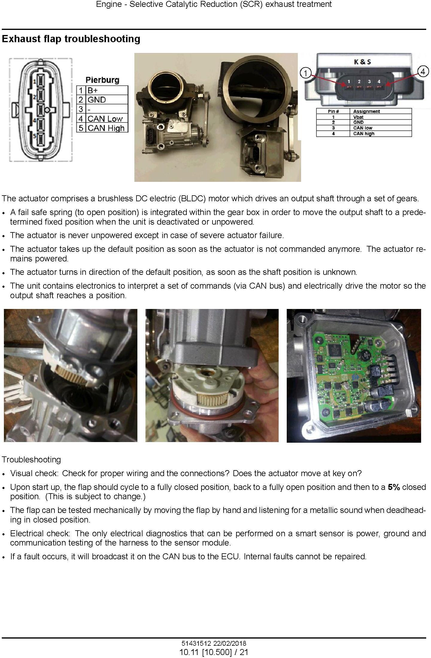 New Holland T8.320, T8.350, T8.380, T8.410, T8.435 & SmartTrax CVT Tractor Tier4B USA Service Manual - 2