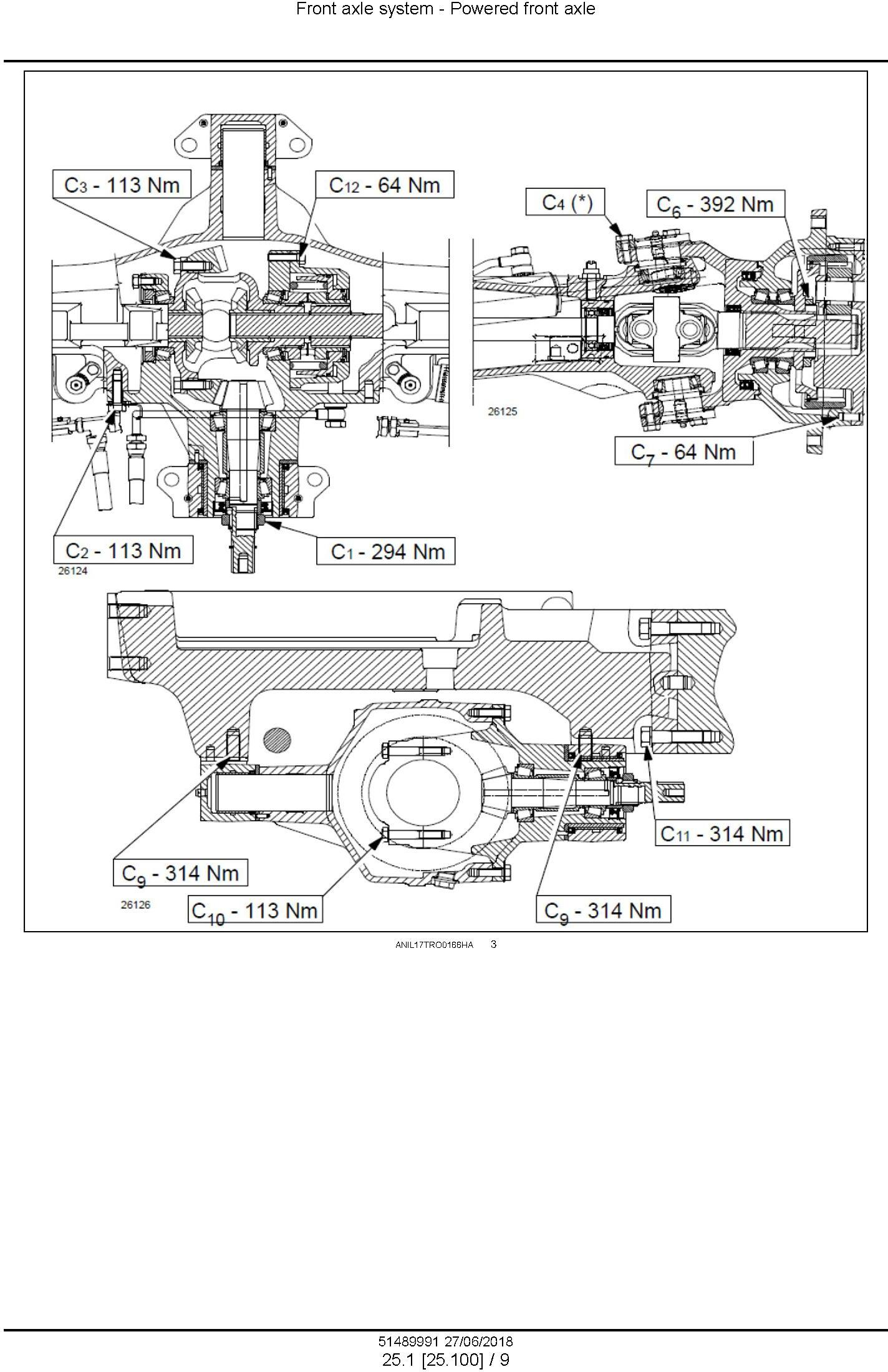 New Holland T4.55S, T4.65S, T4.75S Tractor Service Manual (Australia, New Zeland) - 3