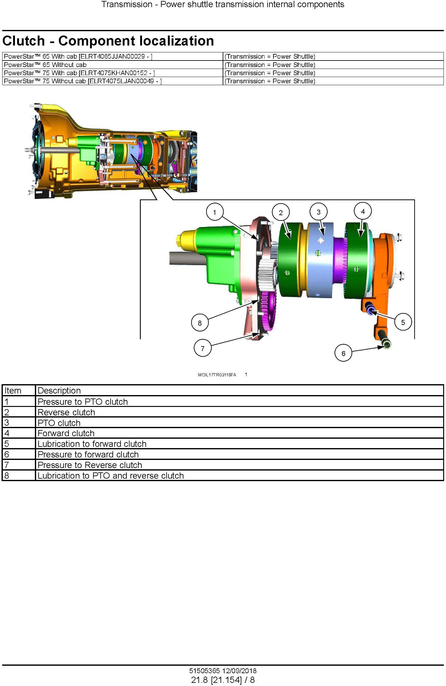 New Holland PowerStar 65, PowerStar 75 Tier 4B final Tractor Service Manual (North America) - 3