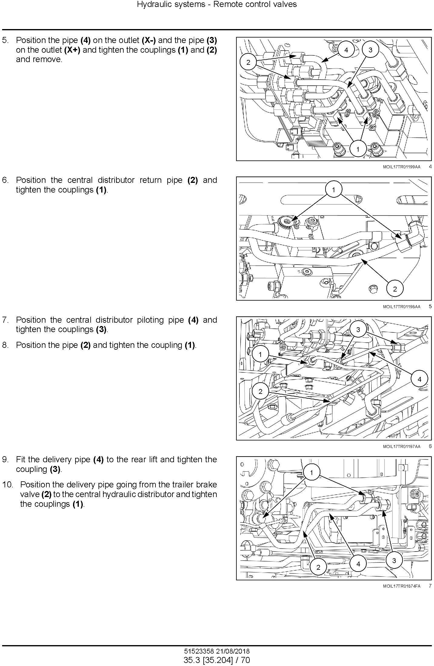 New Holland T4.80F/LP, T4.90F/LP, T4.100F/LP, T4.110F/LP Tractor Service Manual (Europe,Asia,Africa) - 3
