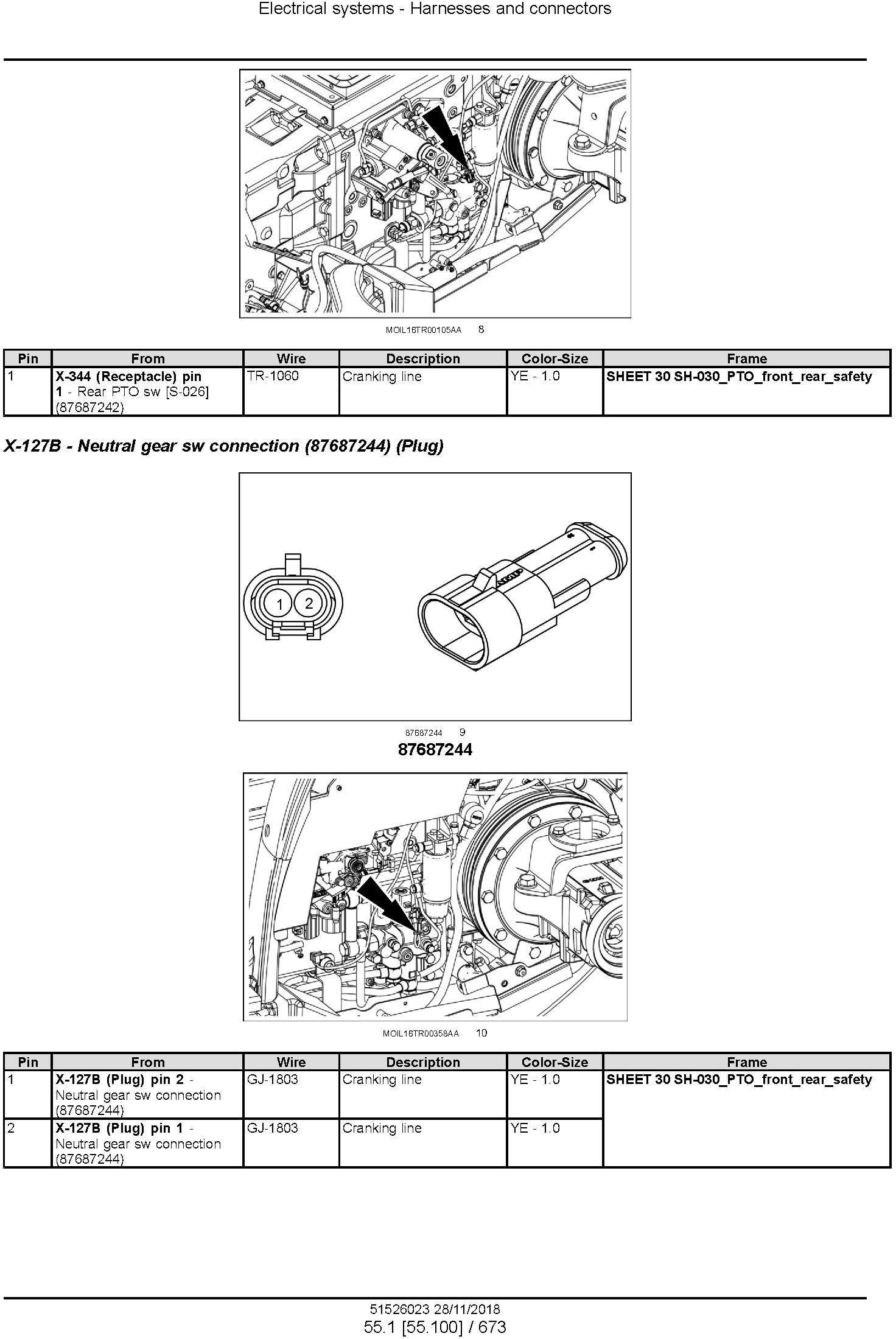 New Holland T4.80V, T4.90V, T4.100V, T4.110V Tier 4A interim Tractor Service Manual (North America) - 3