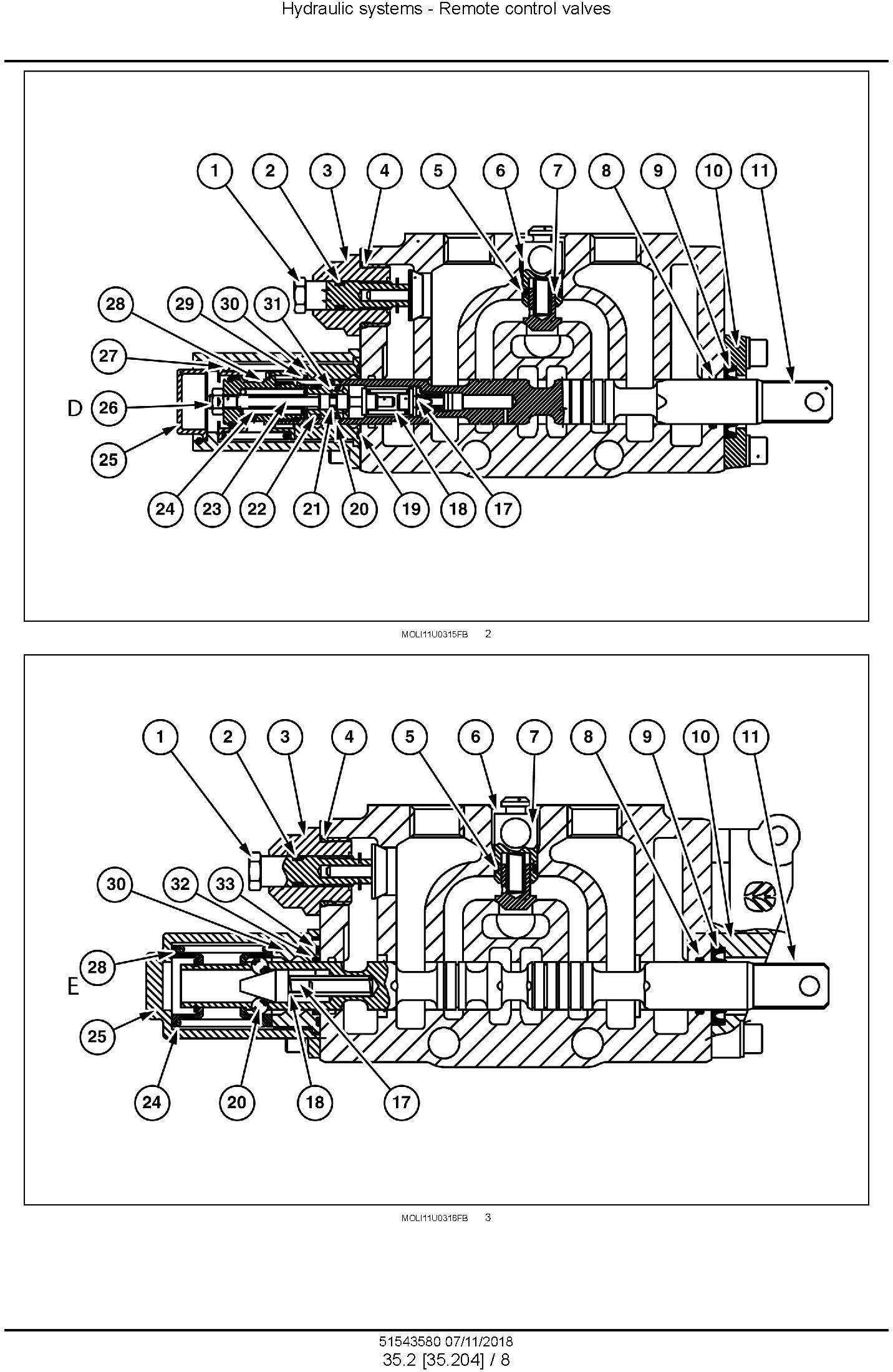 New Holland Powerstar 90 / 100 /110 / 120 Tier 4B final Tractor Service Manual (Nortrh America) - 2