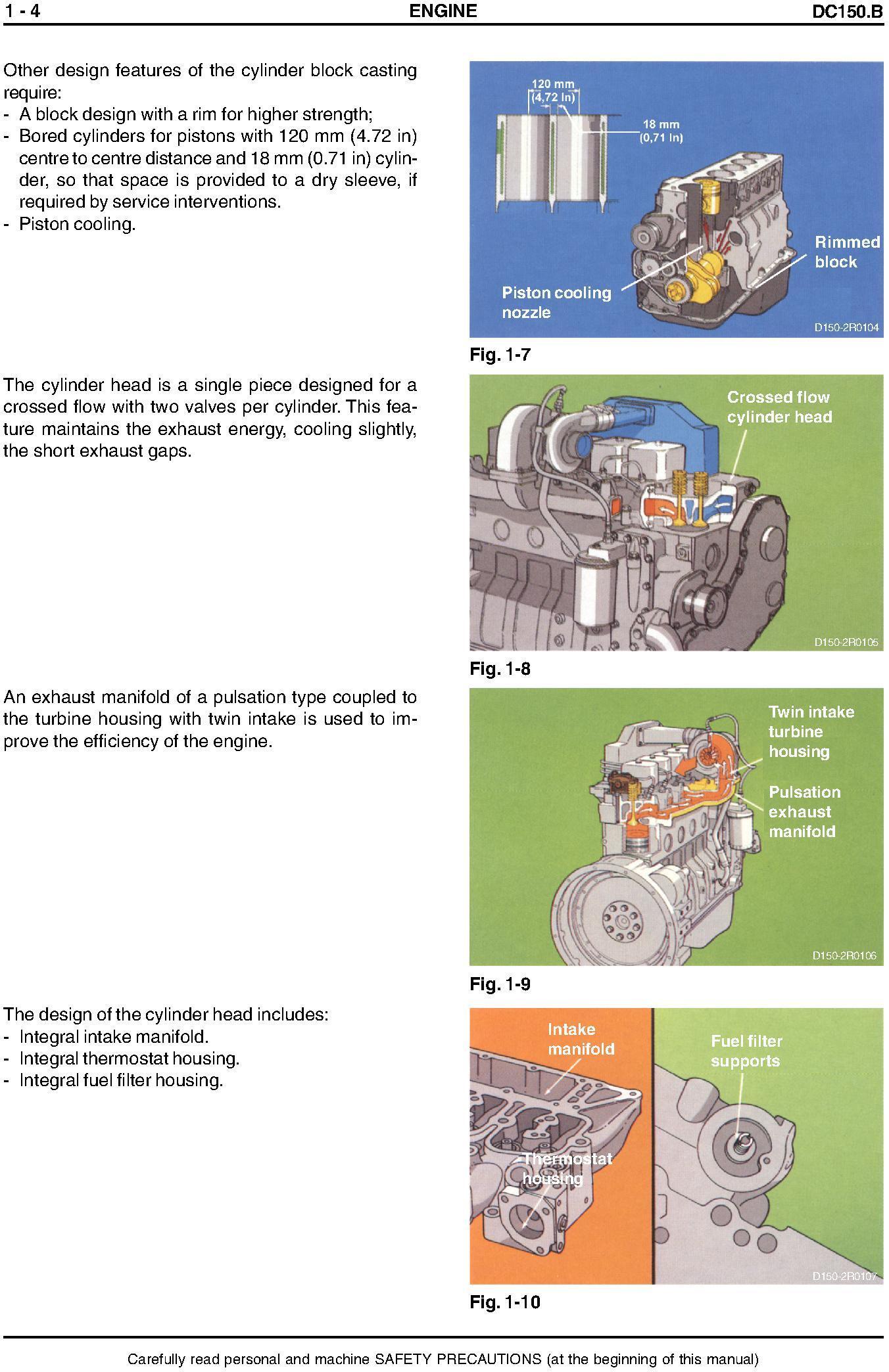 New Holland NH DC150.B Tier 2 Crawler Tractor Service Manual - 2
