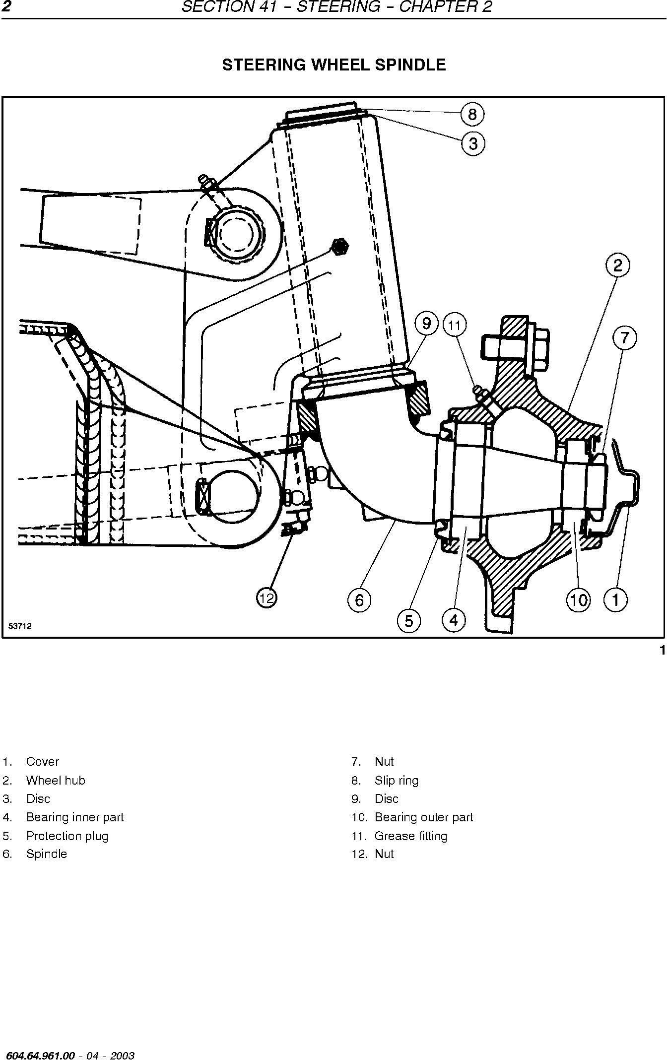 New Holland TC54, TC56, AL59 Utility Combine Service Manual - 3