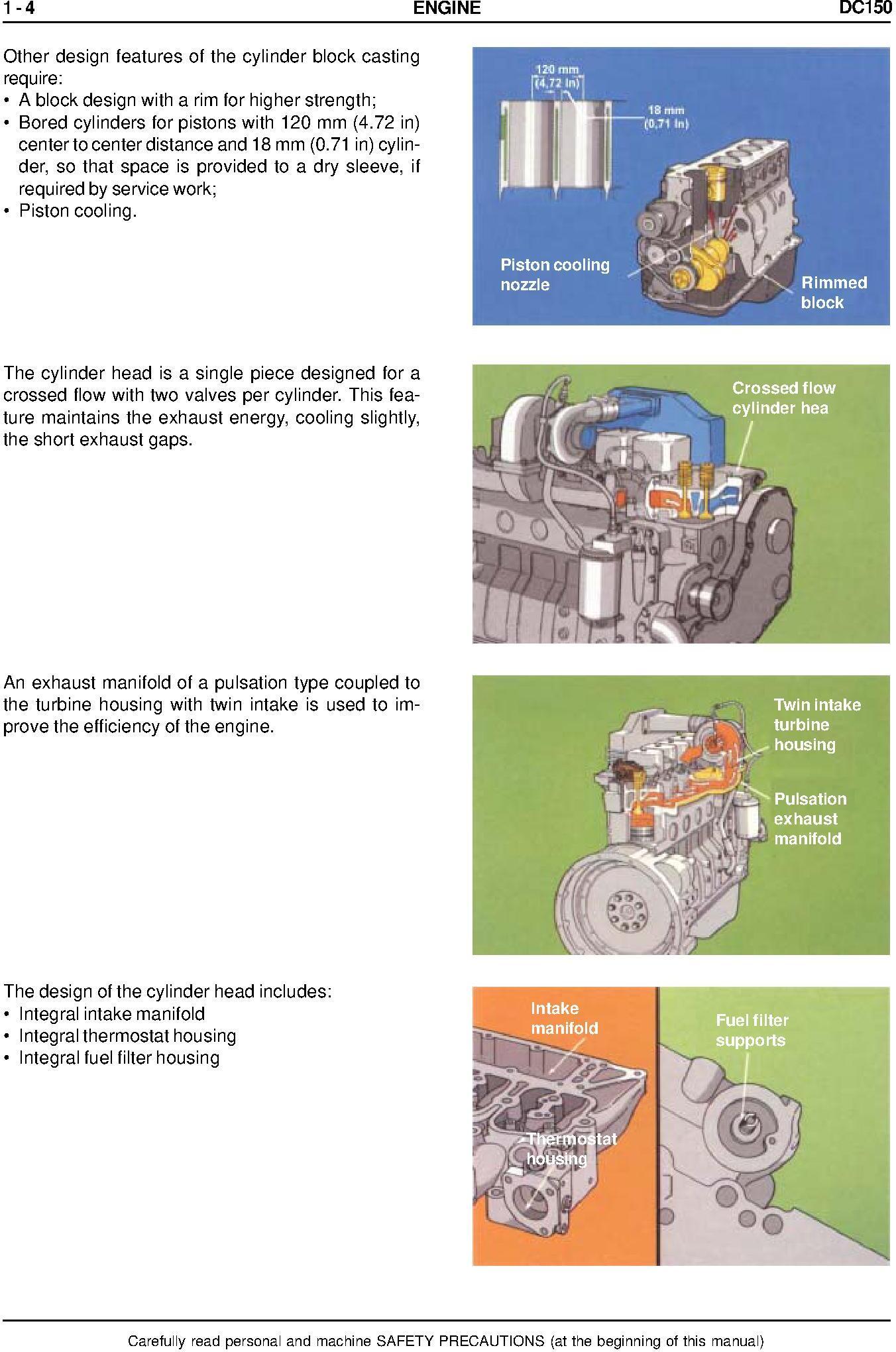 New Holland DC150, DC150LGP Crawler Dozer Service Manual - 2