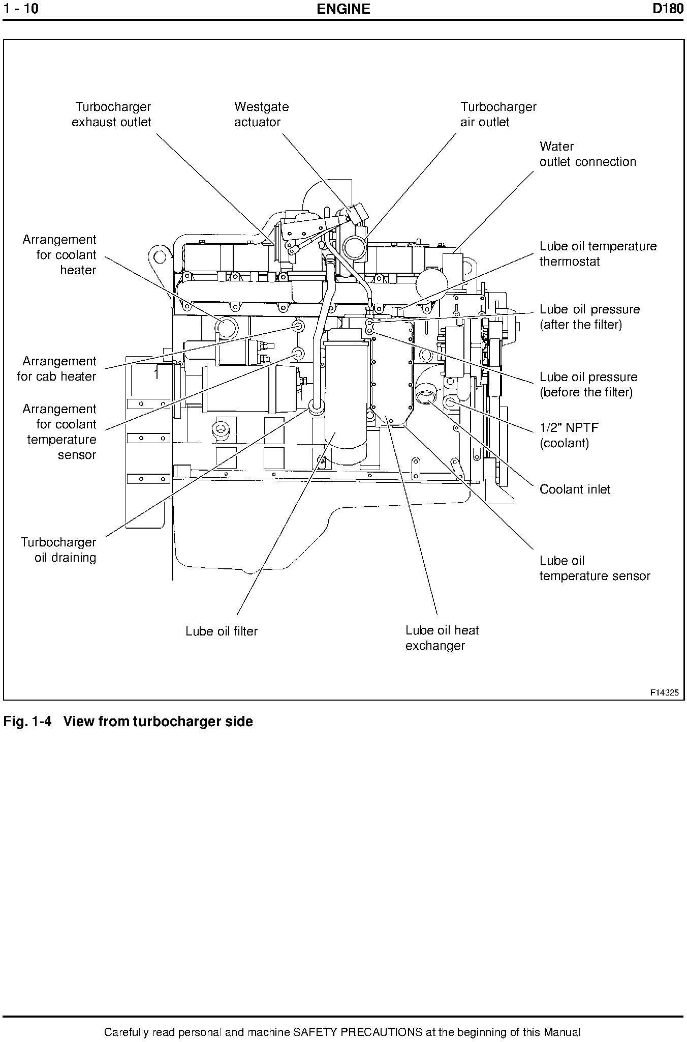 New Holland D180 Crawler Dozer Service Manual - 2