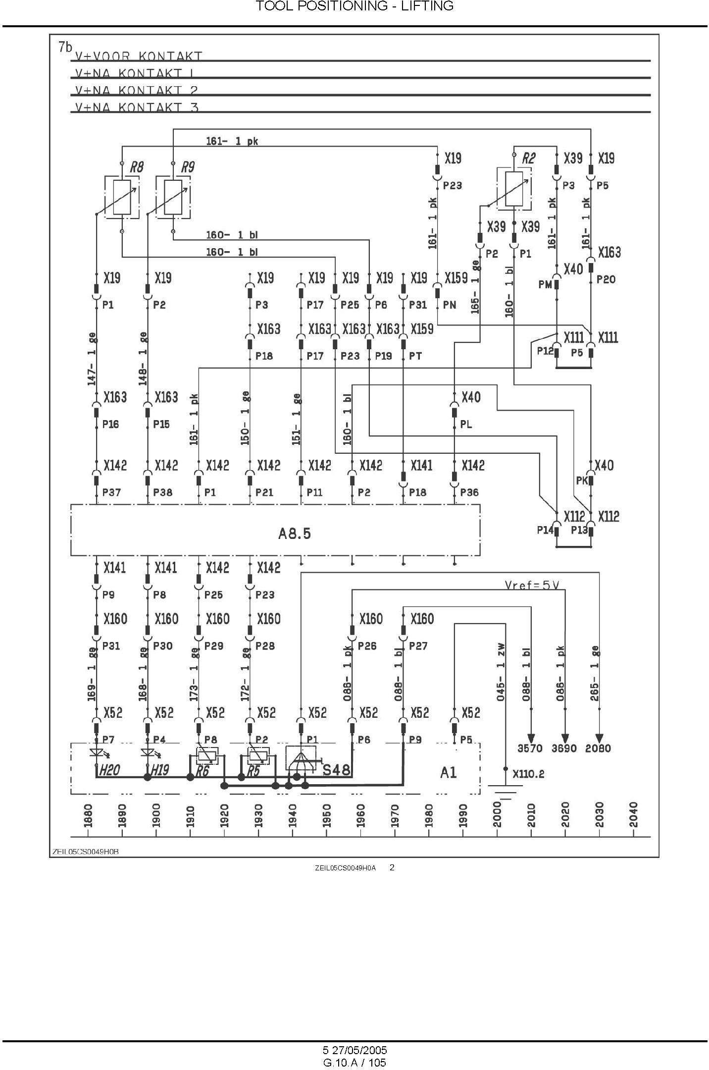 New Holland CS520, CS540, CS640, CS660, CL560 Combine Service Manual - 3
