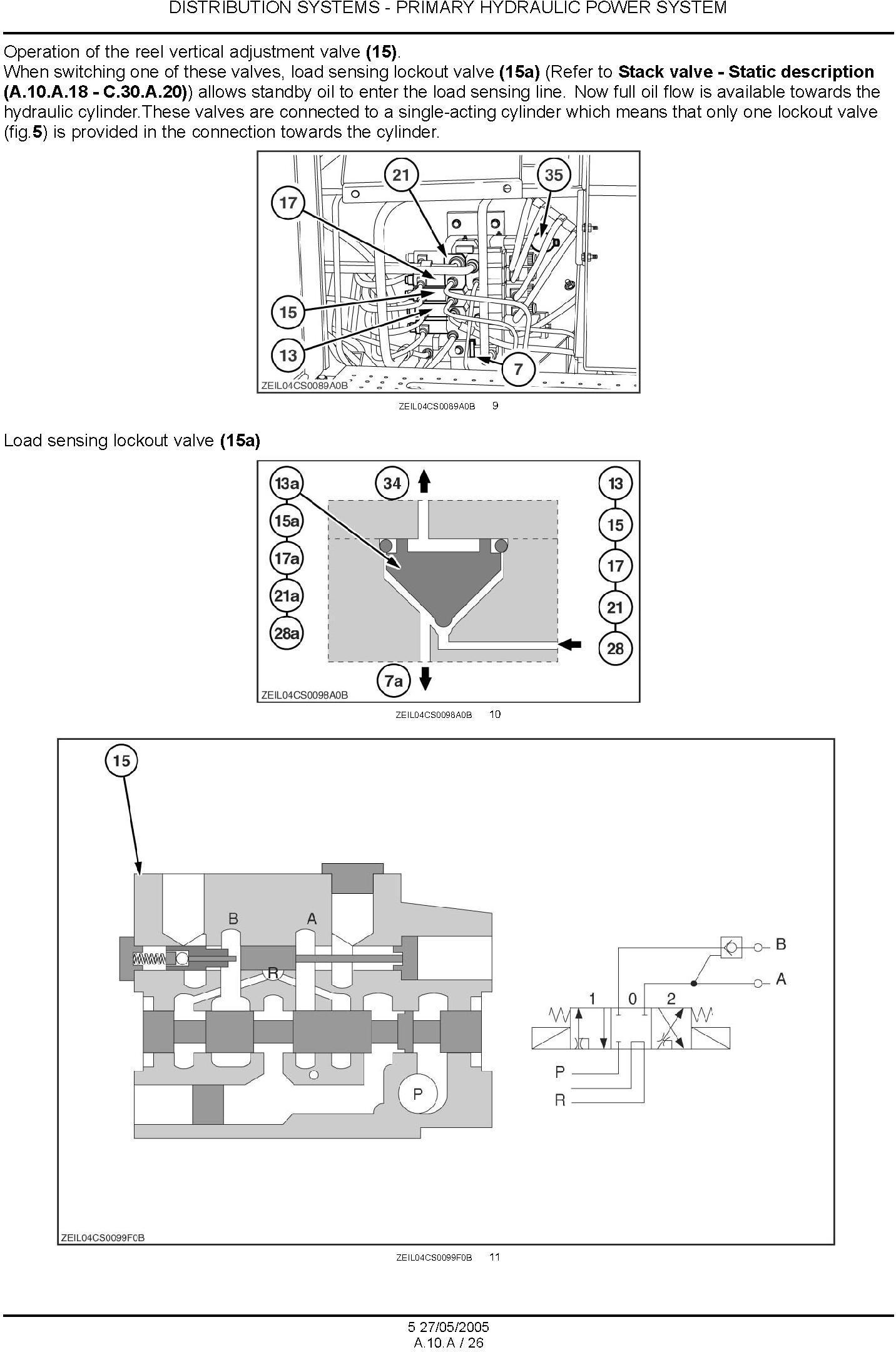 New Holland CS520, CS540, CS640, CS660, CL560 Combine Service Manual - 2