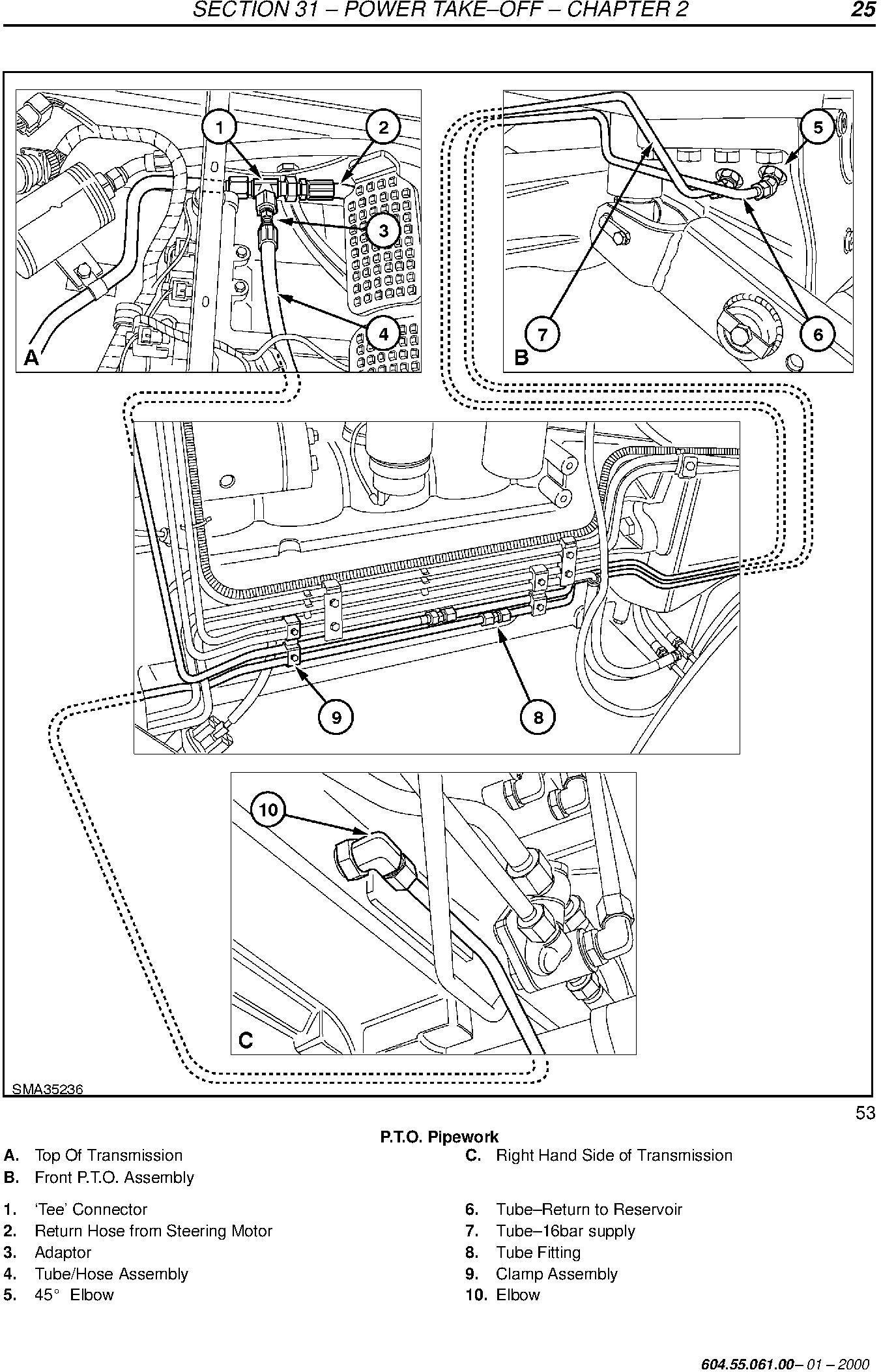 New Holland TM120, TM130, TM140, TM155, TM175, TM190 Service Manual - 3