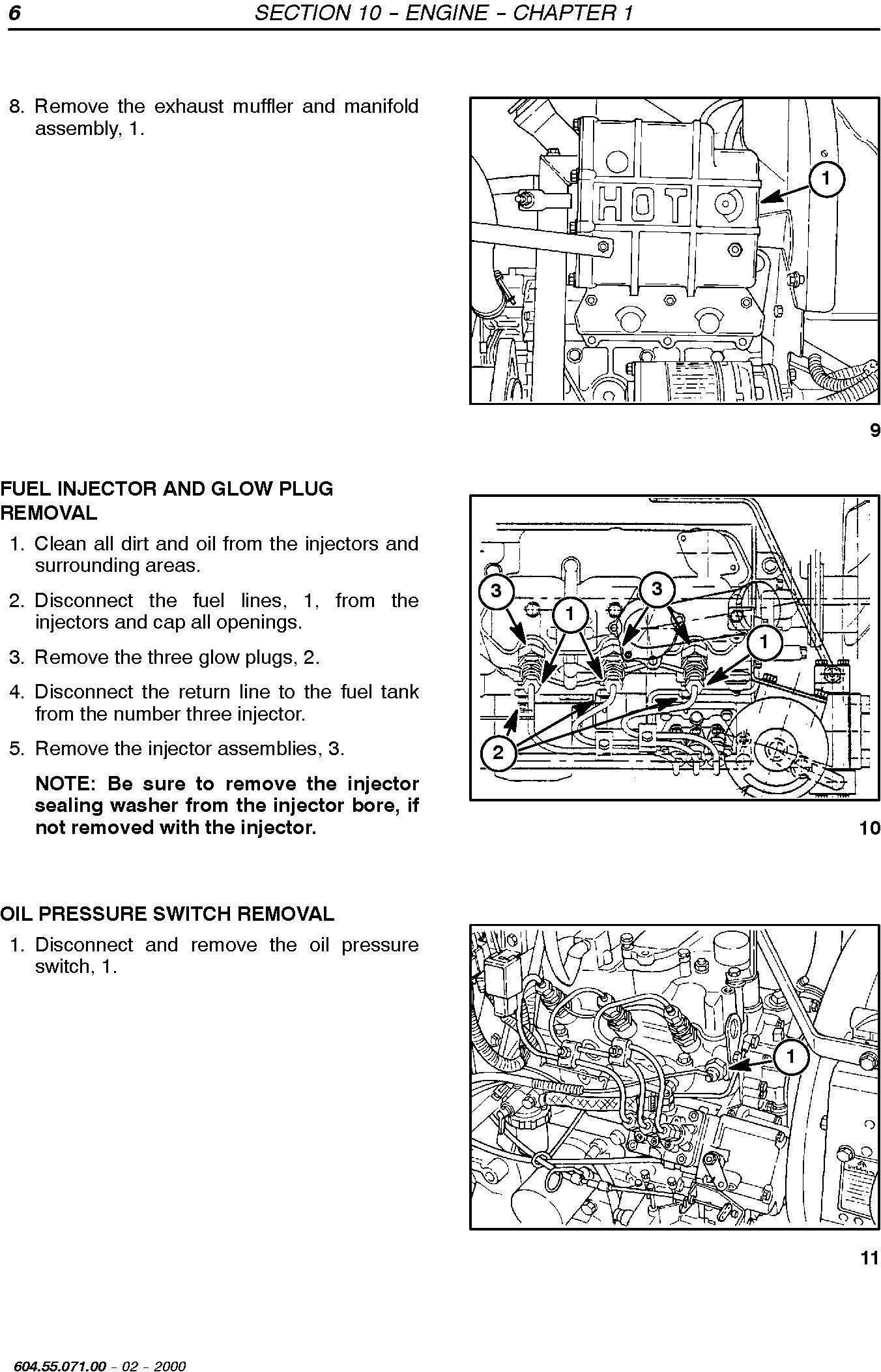 New Holland TC18D, TC21D TC Series Compact Tractors Service Manual - 1