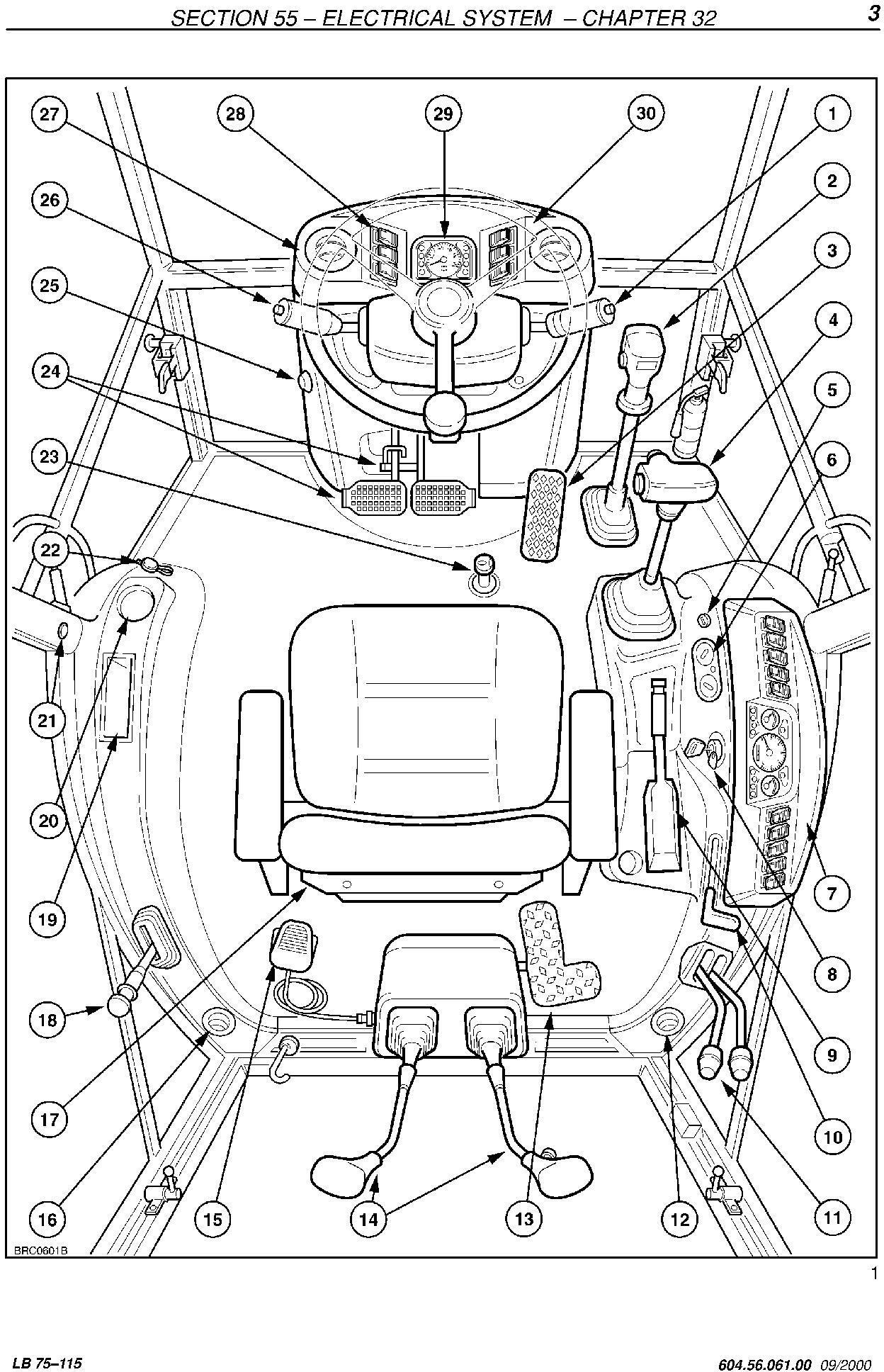 New Holland LB75.B, LB90, LB110, LB115.B Backhoe Loader Service Manual - 3