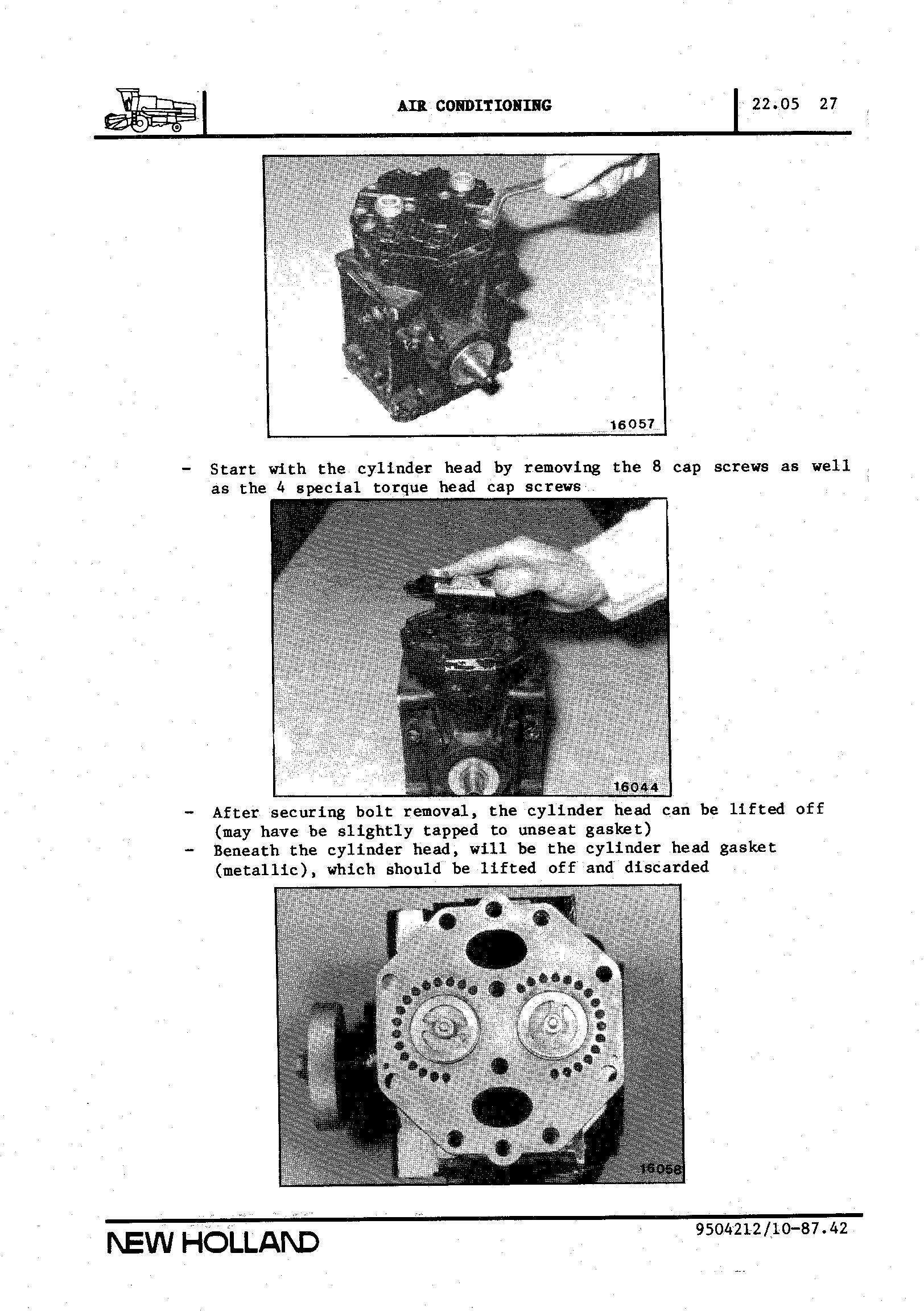 New Holland TF42, TF44, TF46, TX34 Combines Training manual - 3