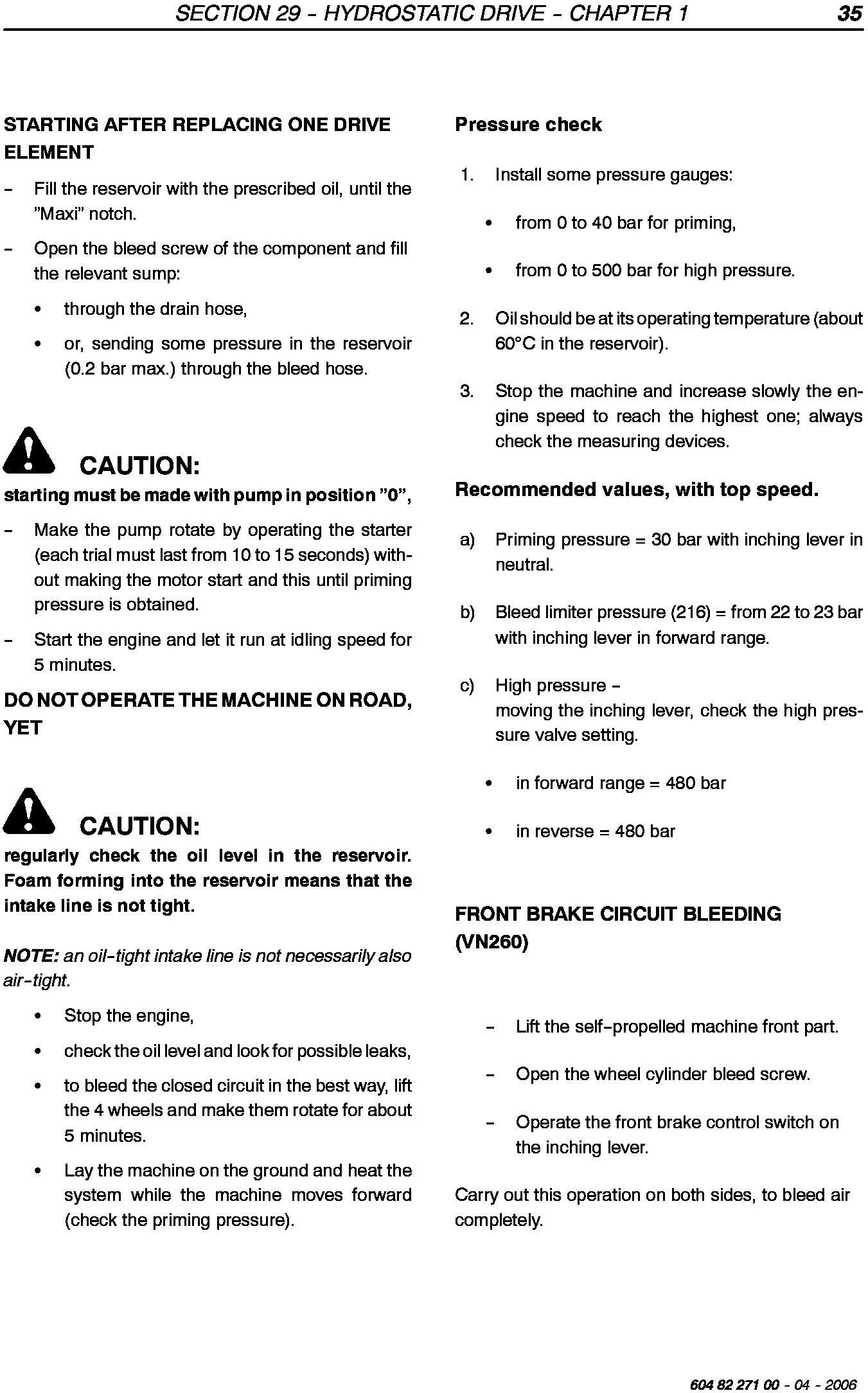 New Holland VN240, VN260 Grape Harvester Service Manual - 3