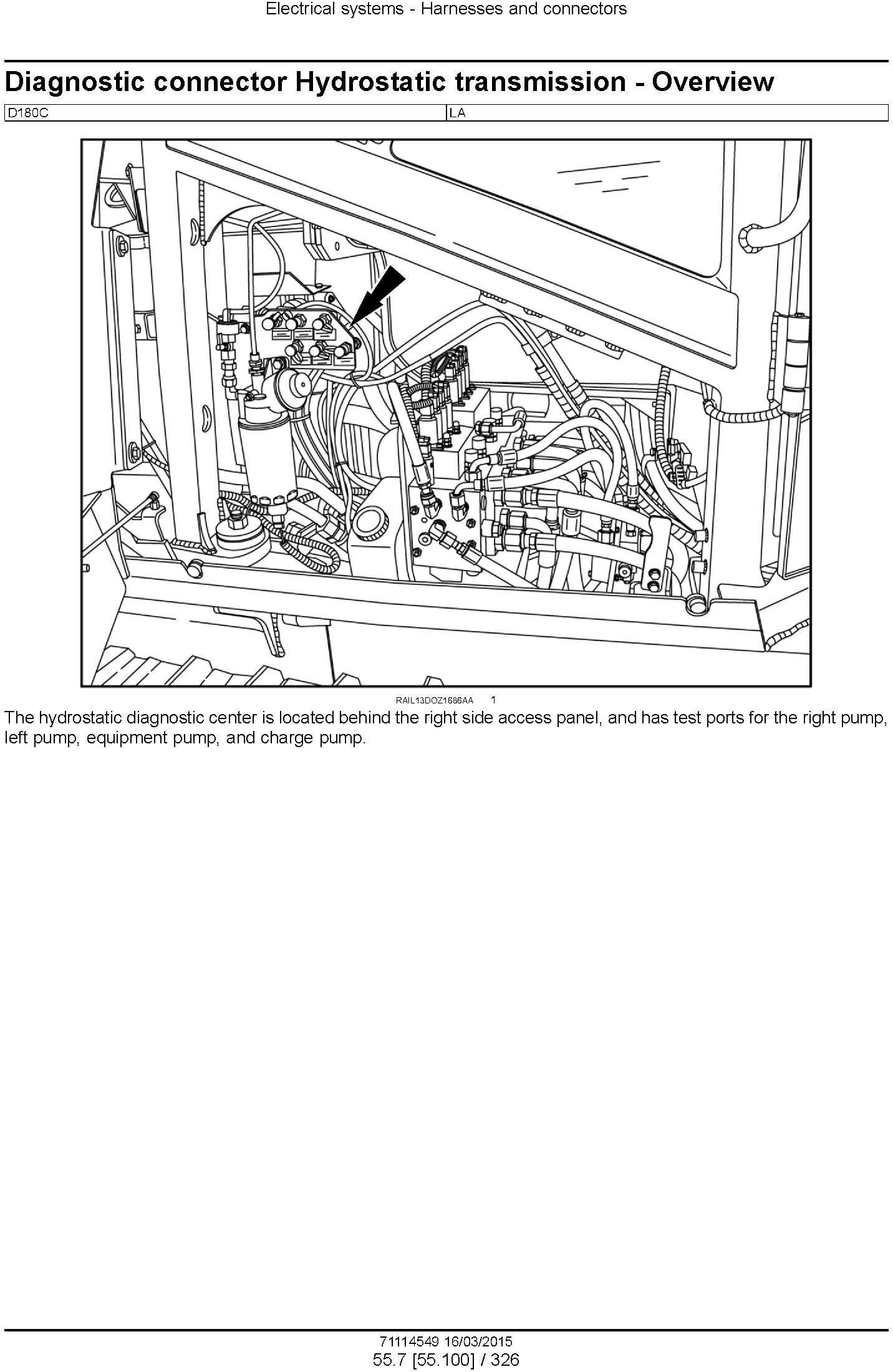New Holland D180C Crawler dozer Service Manual - 3