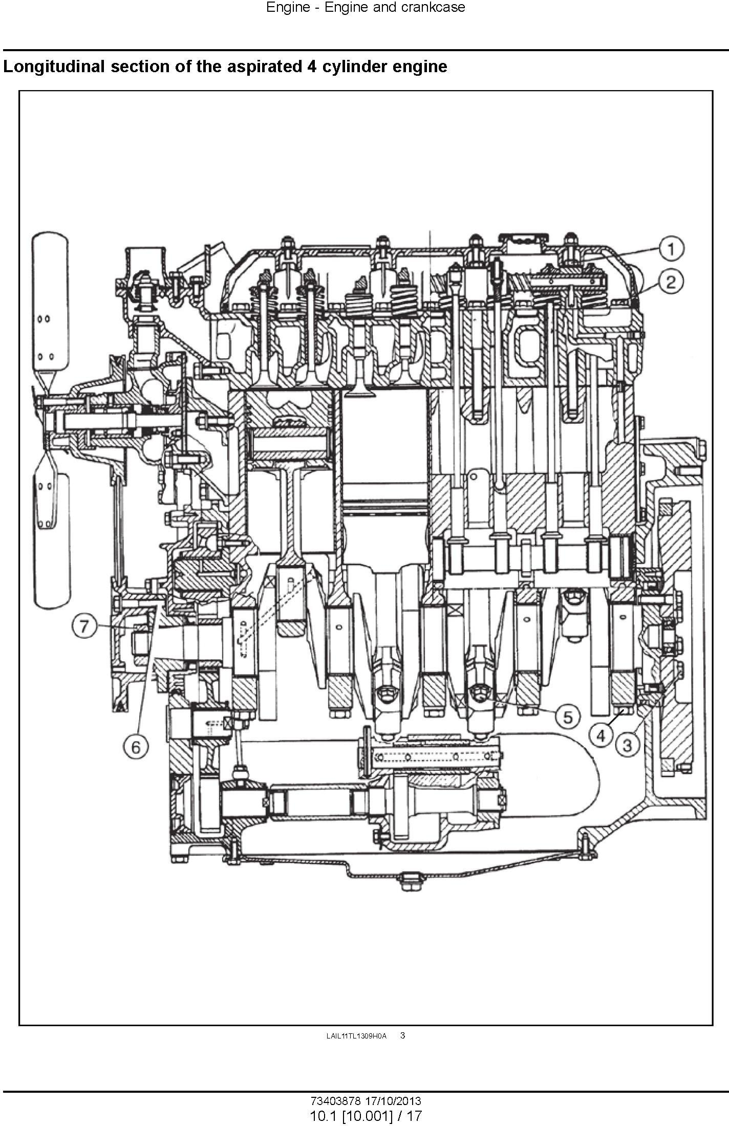 New Holland TT3840, TT3840F, TT3880F, TT4030 Tractors Service Manual - 1