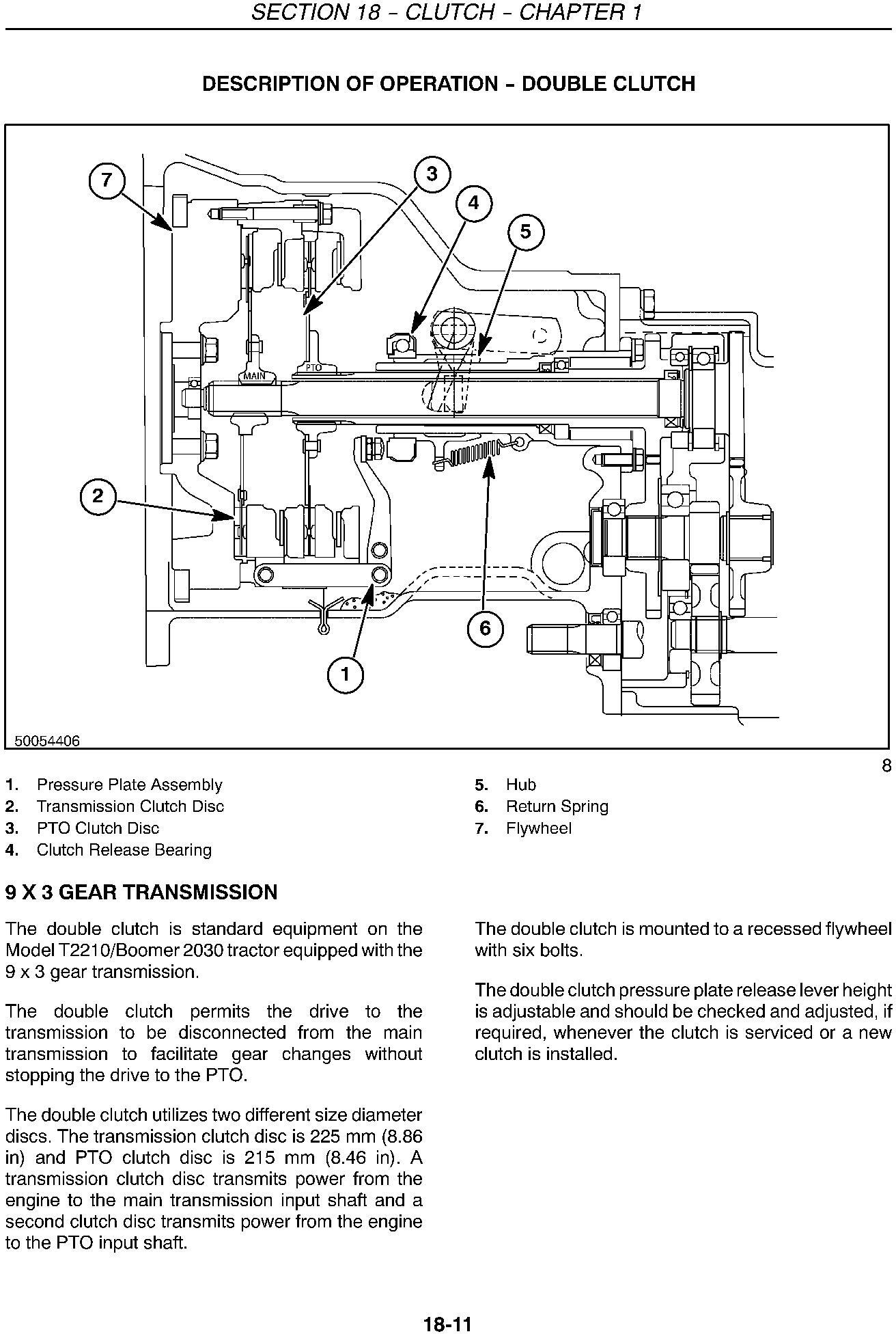 New Holland T2210, T2220, Boomer 2030, Boomer 2035 Compact Tractor Service Manual - 1