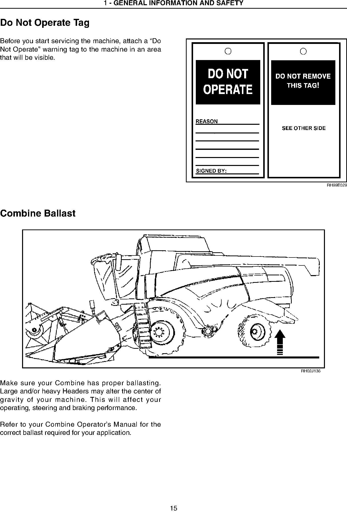 New Holland 82C, 83C Draper Header, CA20 Combine Adapter (Russian and Australia only) Service Manual - 1