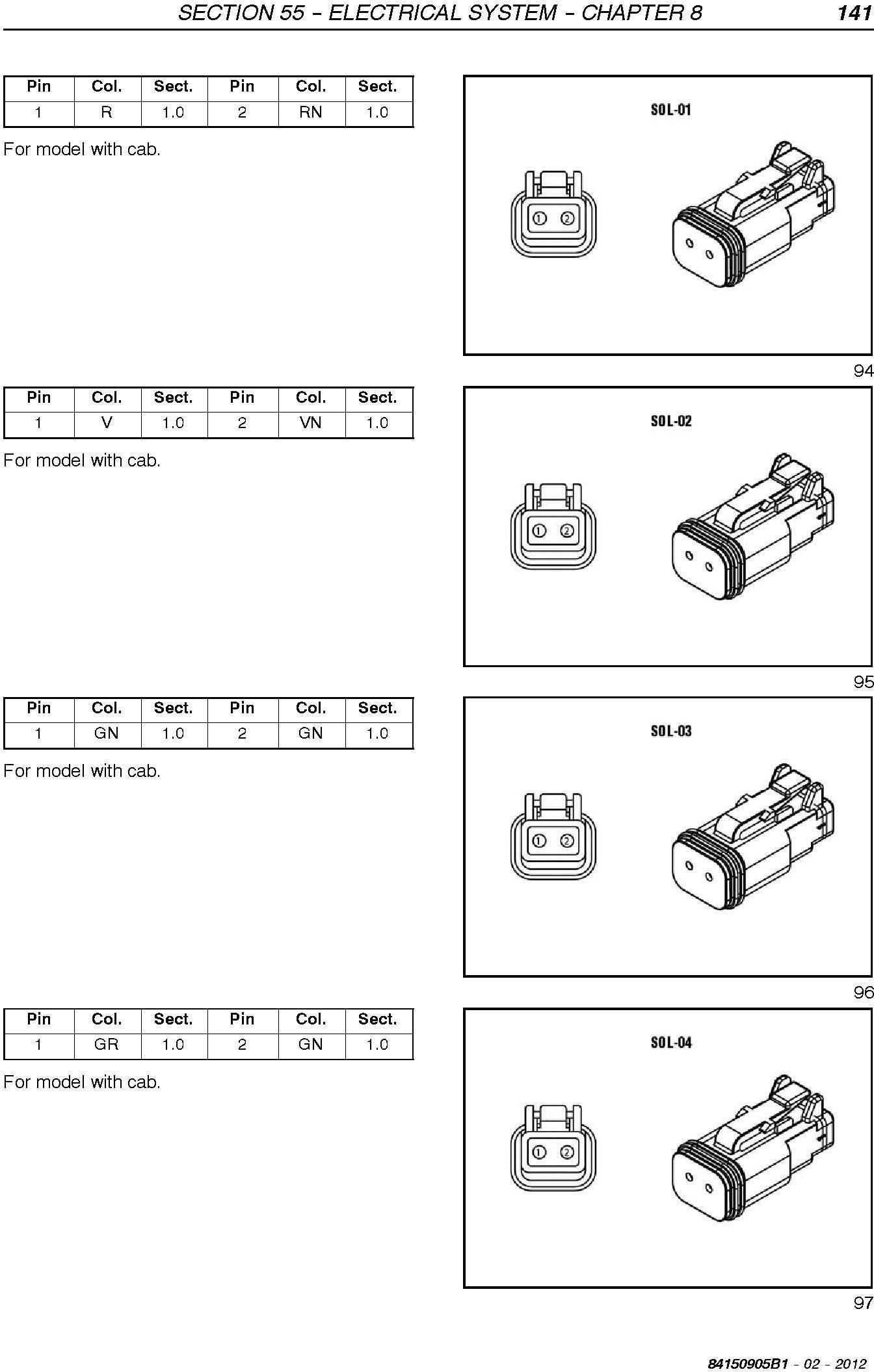 New Holland T4020V, T4030V/N, T4040V/N, T4050V/N, T4060V/N Tractor Service Manual - 3
