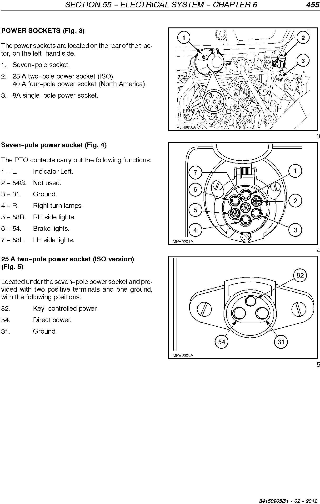 New Holland T4020V, T4030V/N, T4040V/N, T4050V/N, T4060V/N Tractor Service Manual - 2