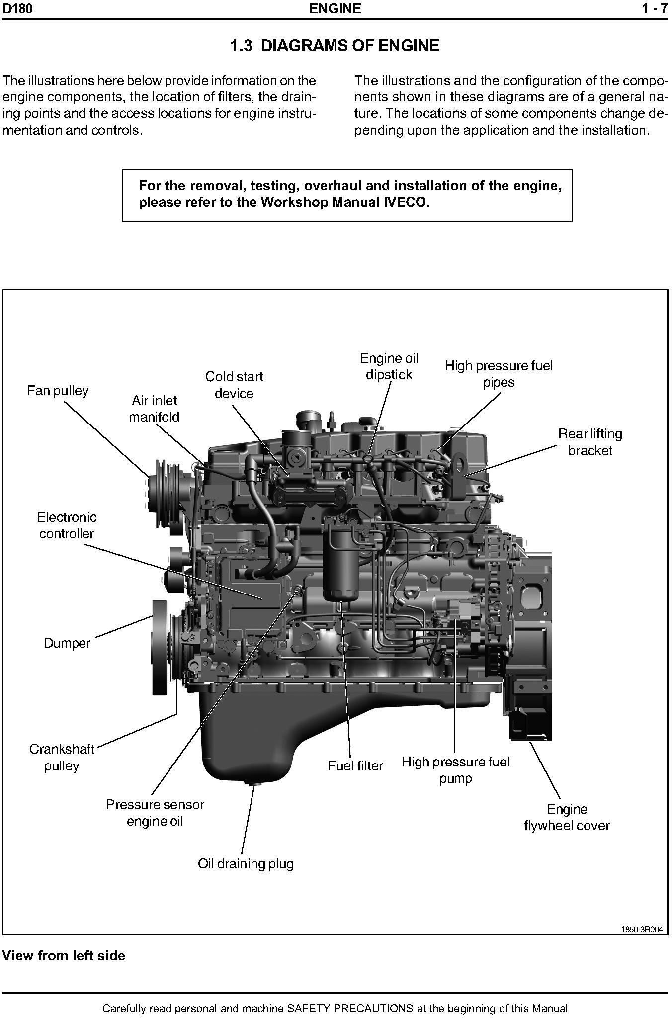 New Holland D180 Crawler Dozer Tier 3 Workshop Service Manual - 2