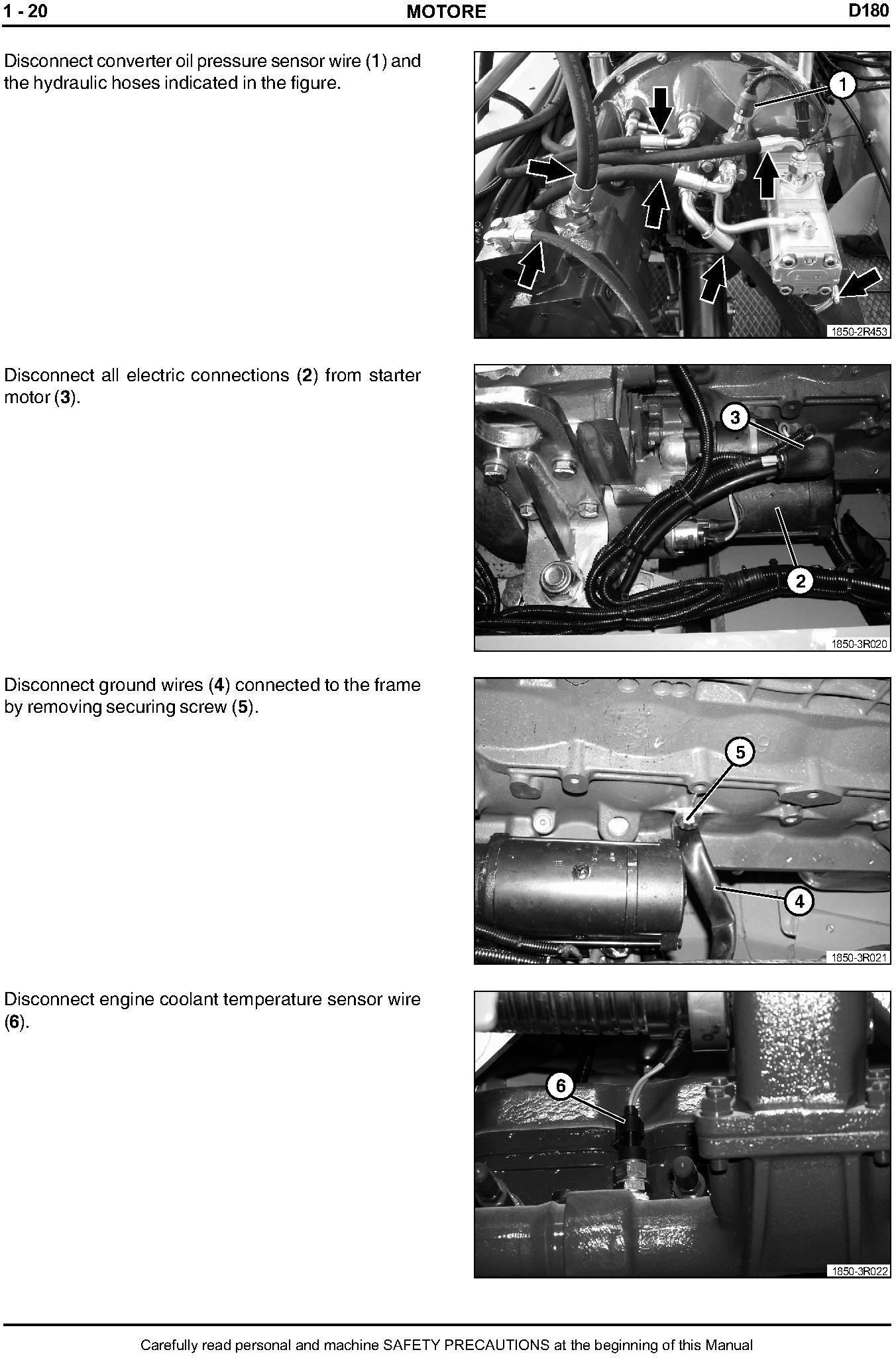 New Holland D180 Crawler Dozer Tier 3 Workshop Service Manual - 3