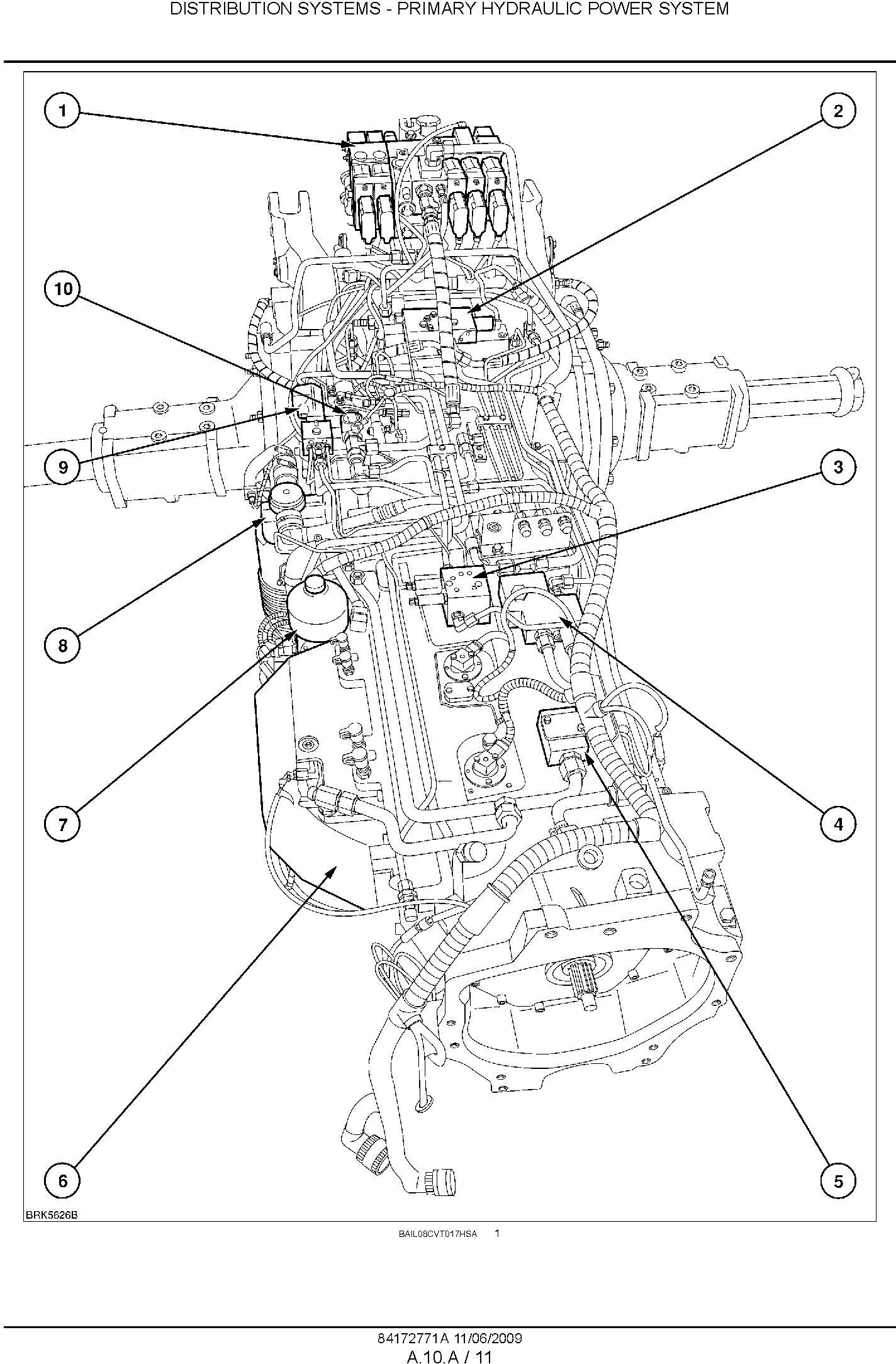 New Holland T7030, T7040, T7050, T7060, T7070 Auto Command CVT Tractor Service Manual - 1
