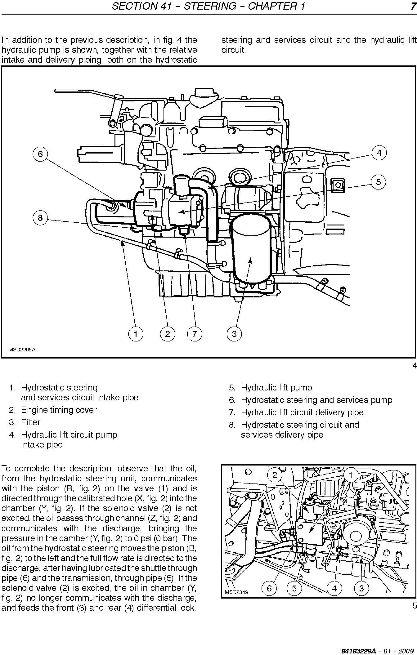 New Holland T3010, T3020, T3030, T3040 Agricultural Tractors Service Manual - 2