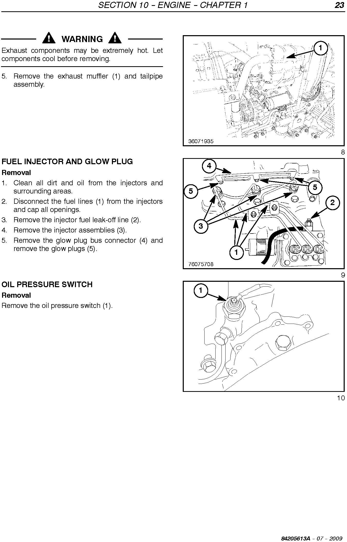New Holland T1560, T1570 Compact Tractor Service Manual - 3