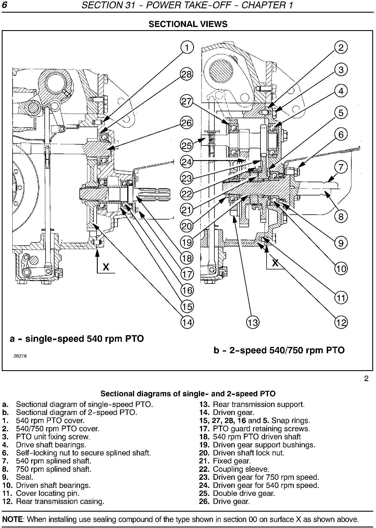 New Holland TD5030, TD5040, TD5050 Tractors Service Manual - 2
