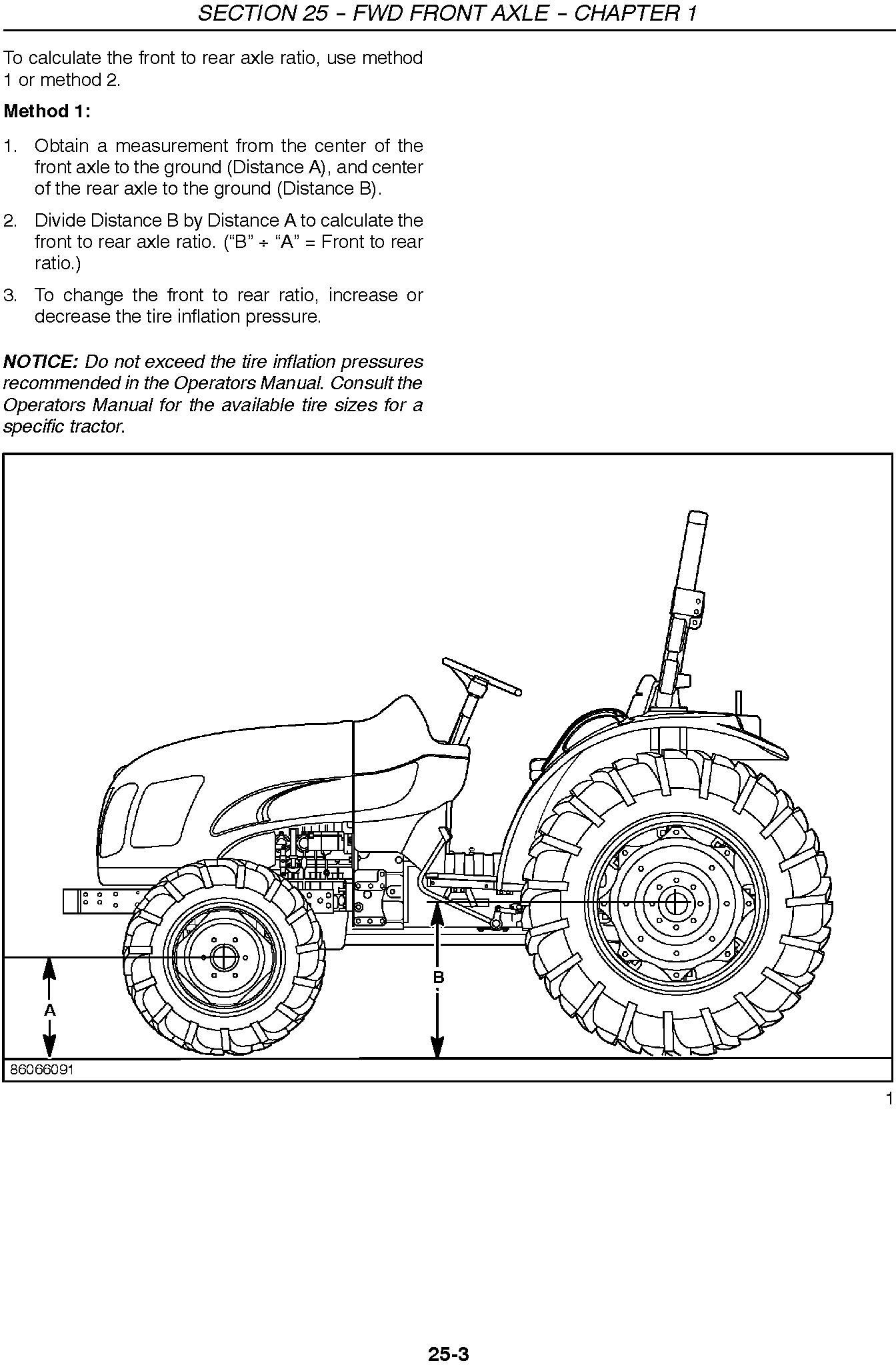 New Holland Boomer 4055, 4060 Tractor Service Manual - 2