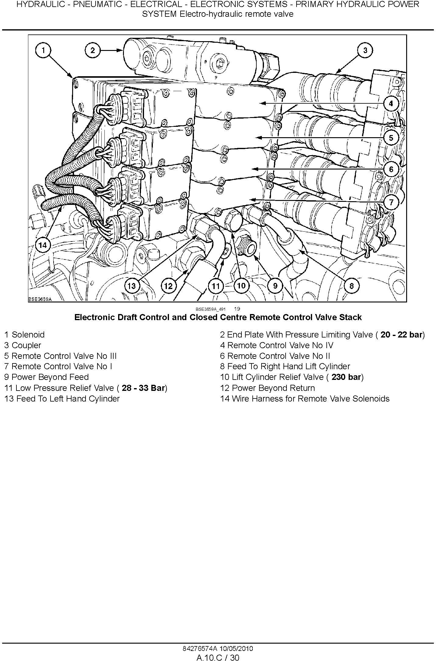 New Holland T6010, T6020, T6030, T6040, T6050, T6060, T6070 Agricultural Tractor Service Manual - 2