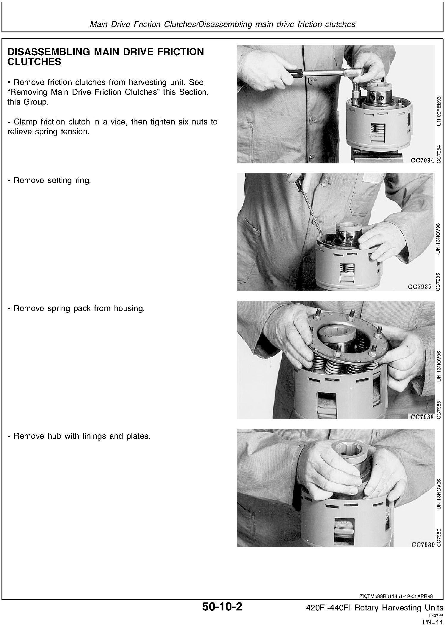 New Holland 420FI, 440FI Rotary Harvesting Headers Service Manual - 3