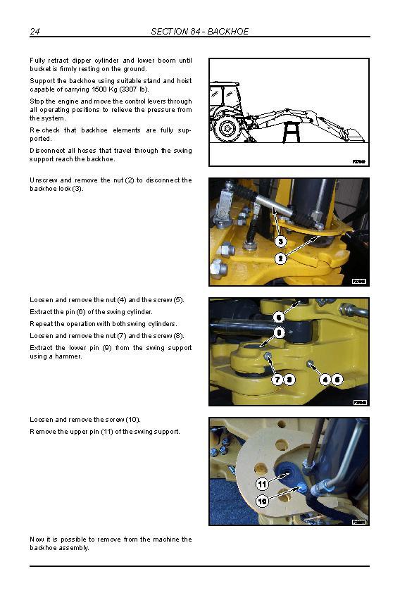 New Holland B90B, B95B, B95BLR, B95BTC, B110B, B115B Tier 3 Backhoe Loaders Service Manual - 3