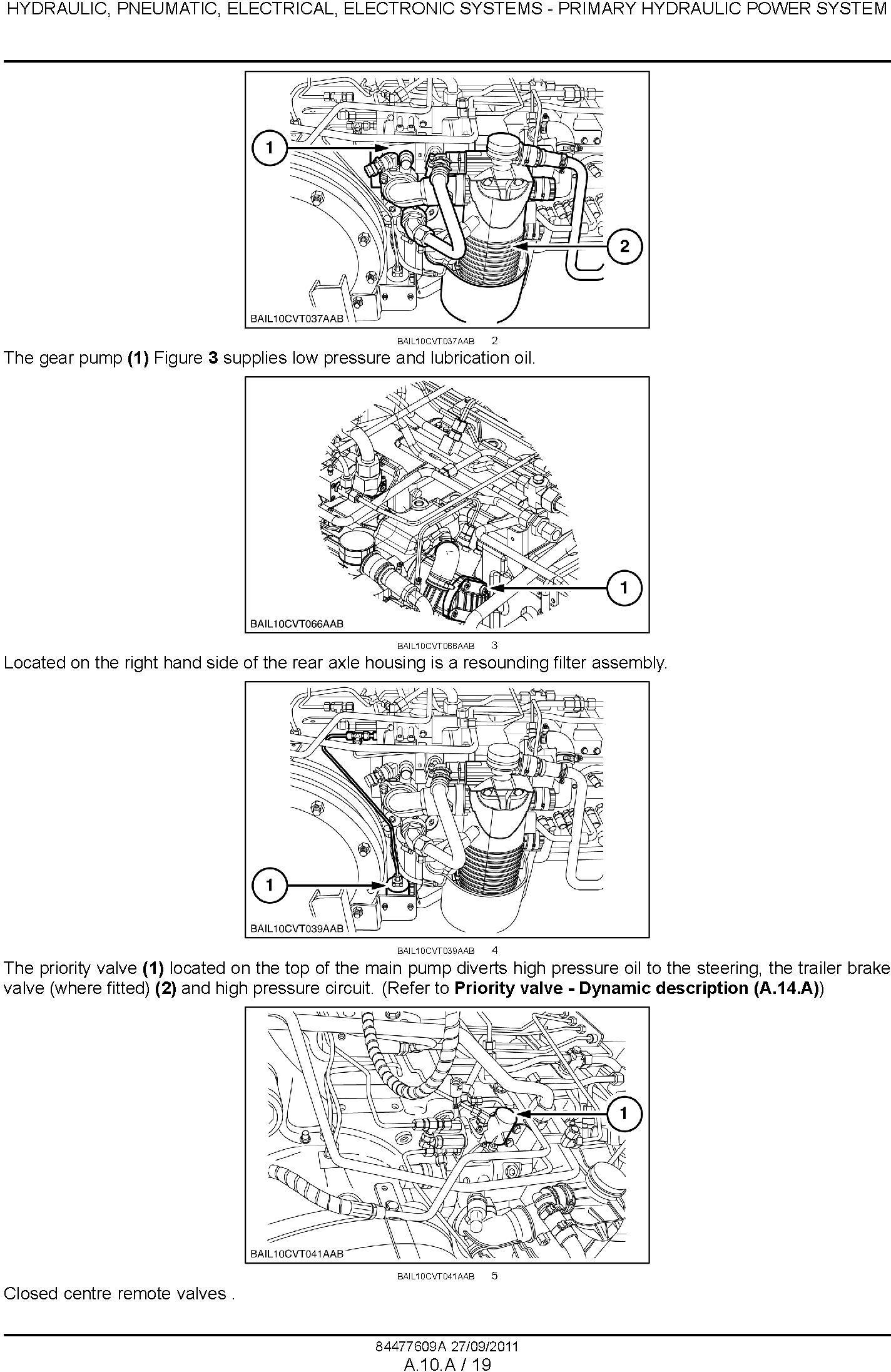 New Holland T7.170, T7.185, T7.200, T7.210 Tractors Service Manual - 3