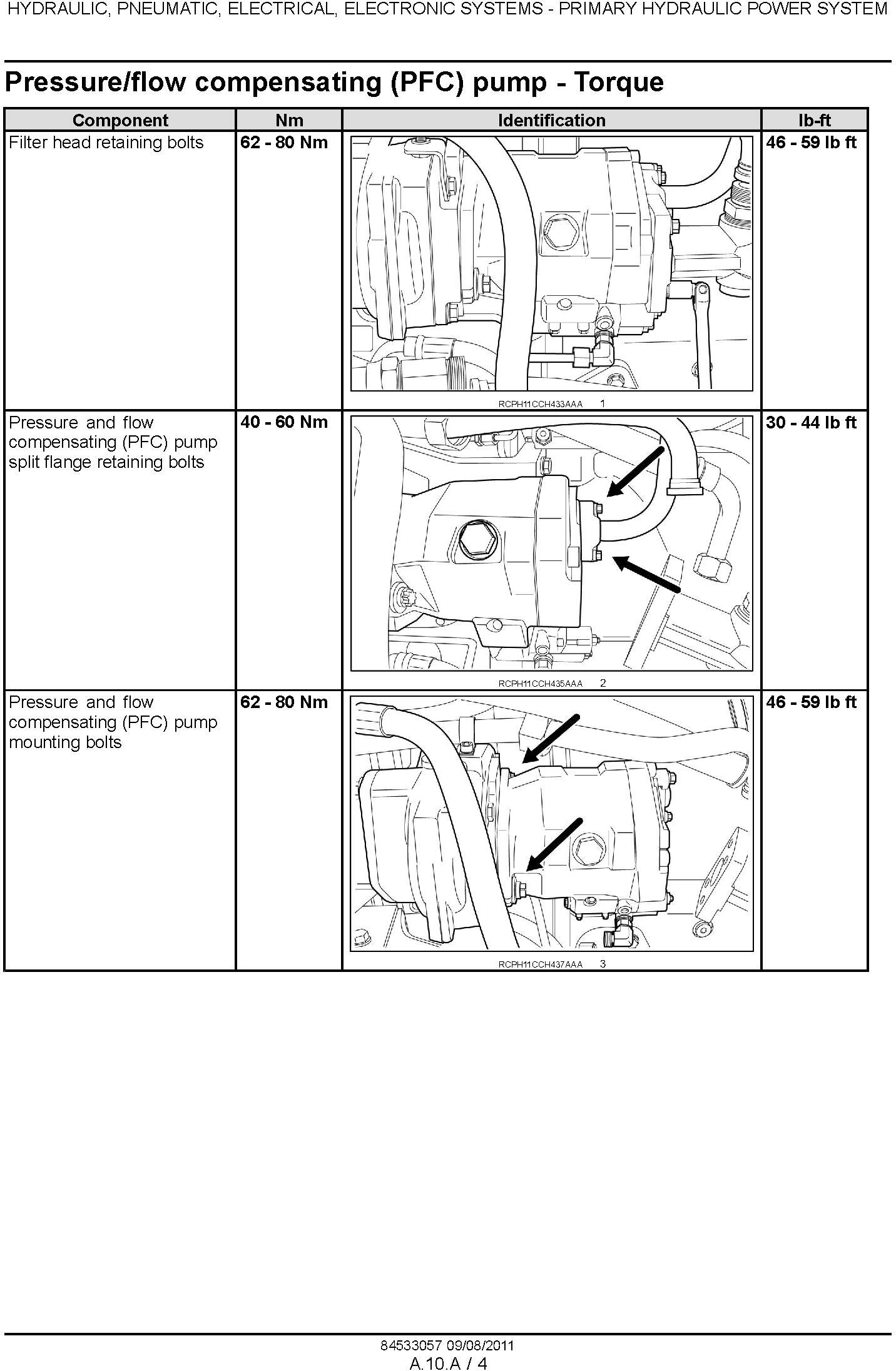 New Holland T8.275, T8.300, T8.330, T8.360, T8.390 Agricultural Tractor Service Manual (08/2011) - 1